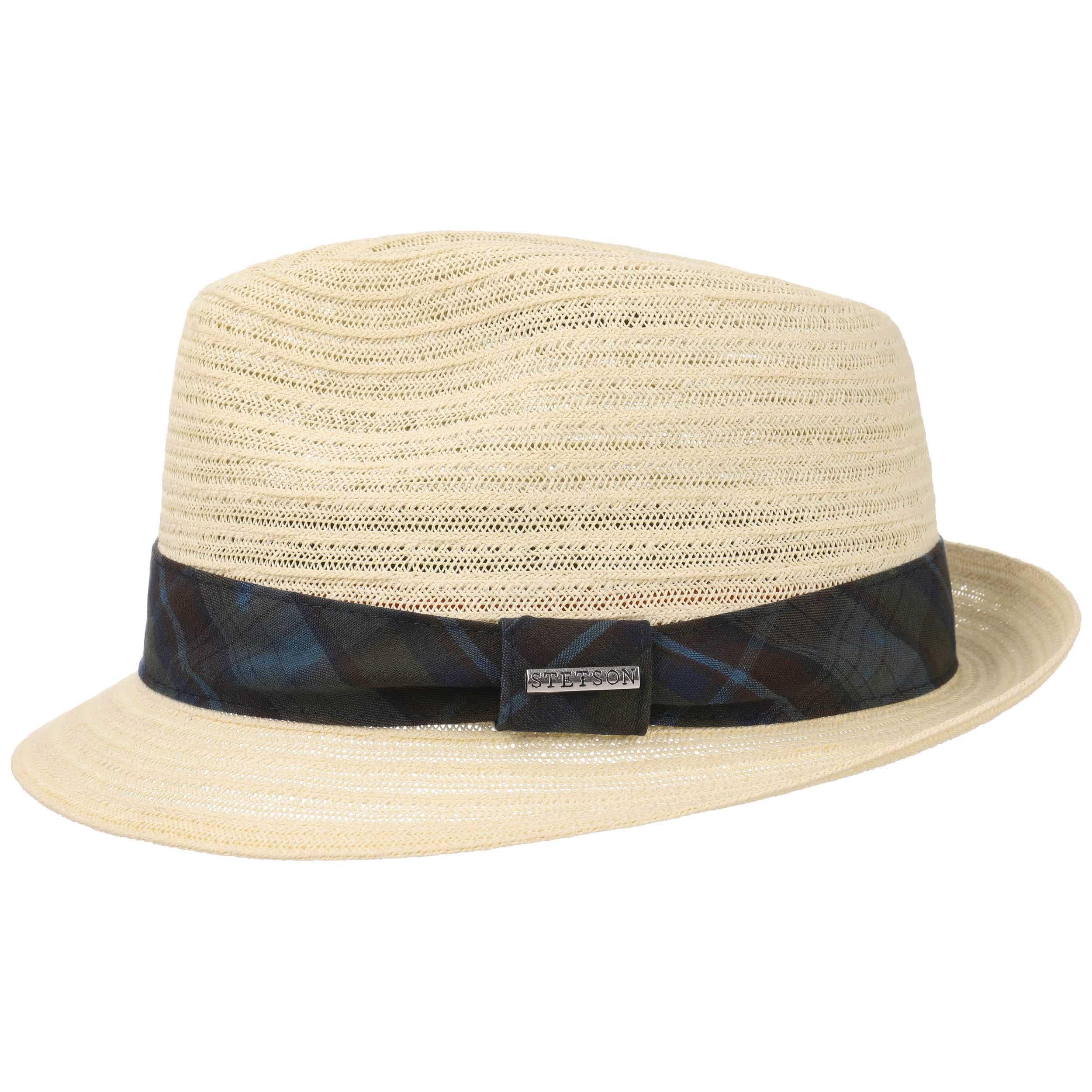... Checked Band Toyo Player Hat by Stetson - cream white 4 ... 9b0b0c978a0b