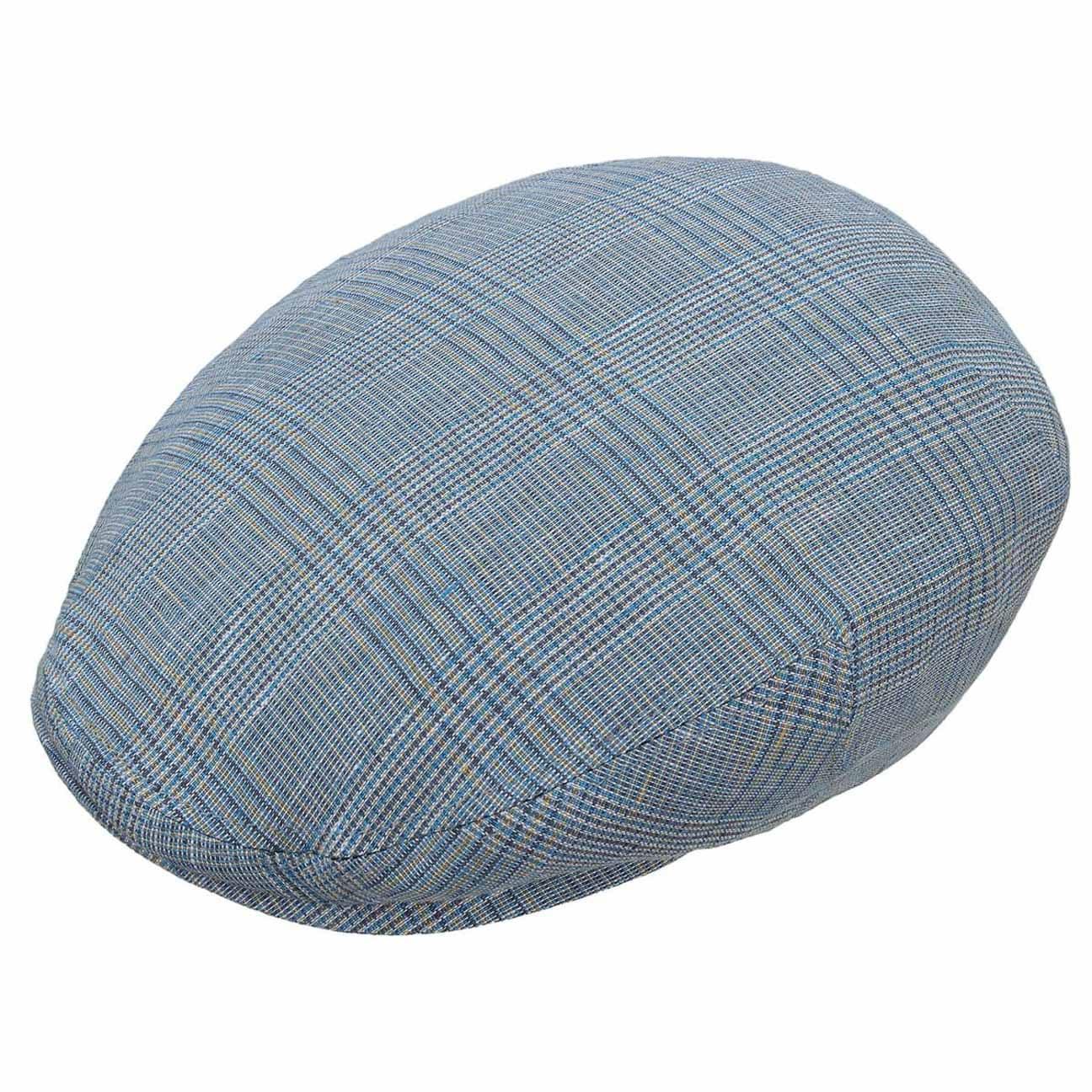 794d30cb ... beige 2 · Checked Kent Linen Flat Cap by Stetson - light blue 2 ...