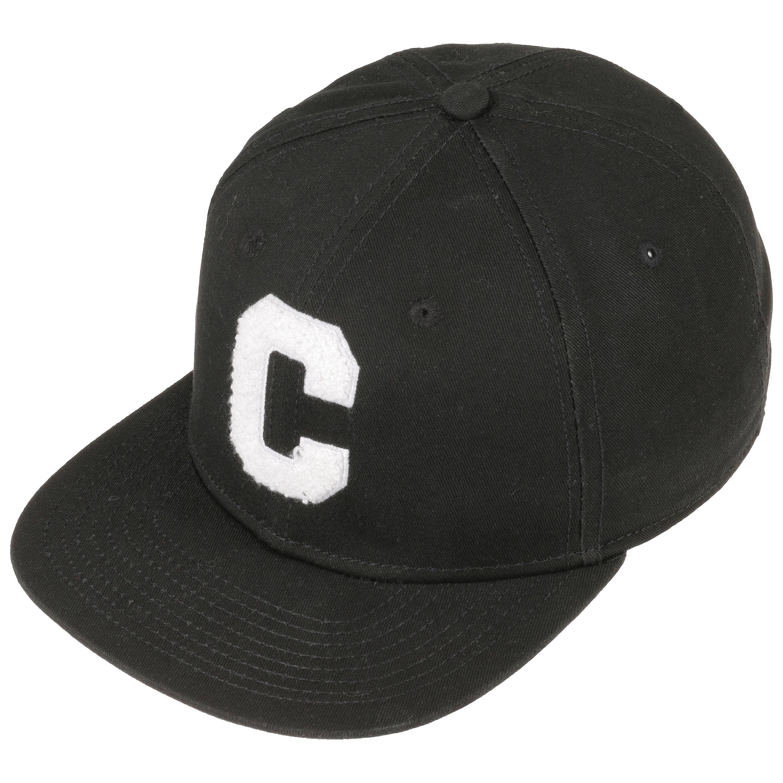 af7f83db ... Chenille C Snapback Cap by Converse - black 1 ...