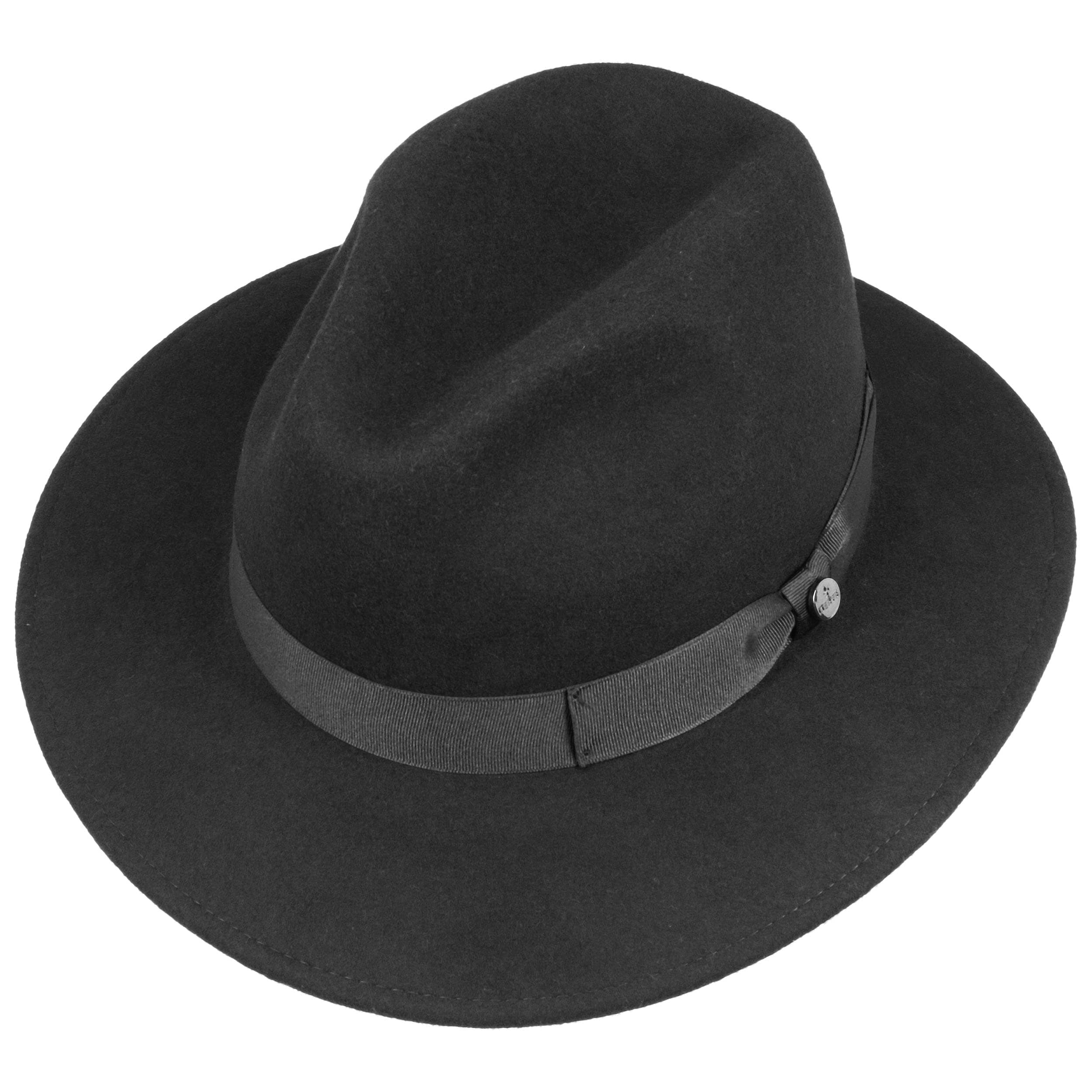 Chicago Wool Felt Traveller Hat by Lierys Felt hats Lierys N0LF82kt