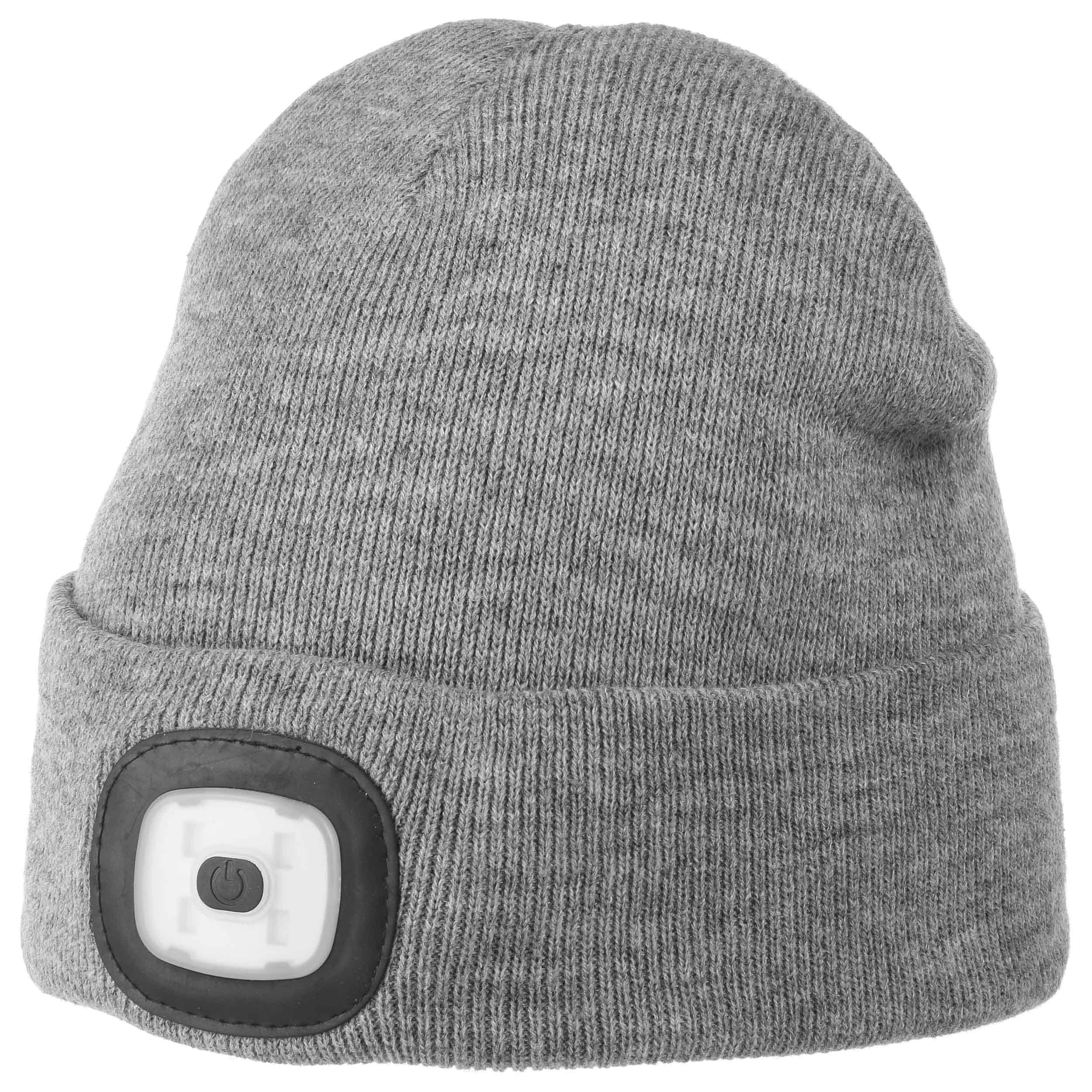... Chilllight Cuffed Beanie with LED by Chillouts - grey 4 ... 8f1f68b36cd9
