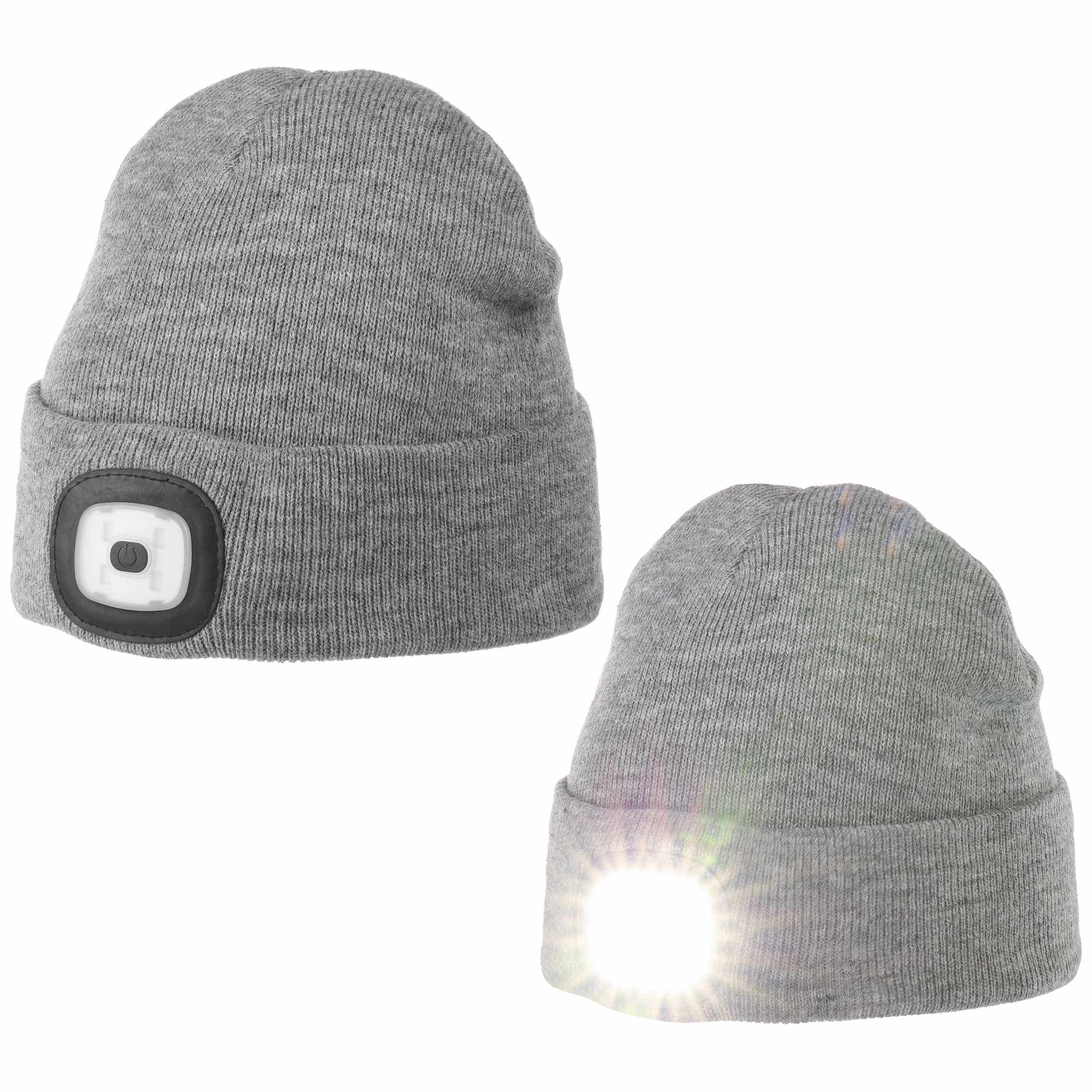 ... Chilllight Cuffed Beanie with LED by Chillouts - grey 6 bfd331169ccd