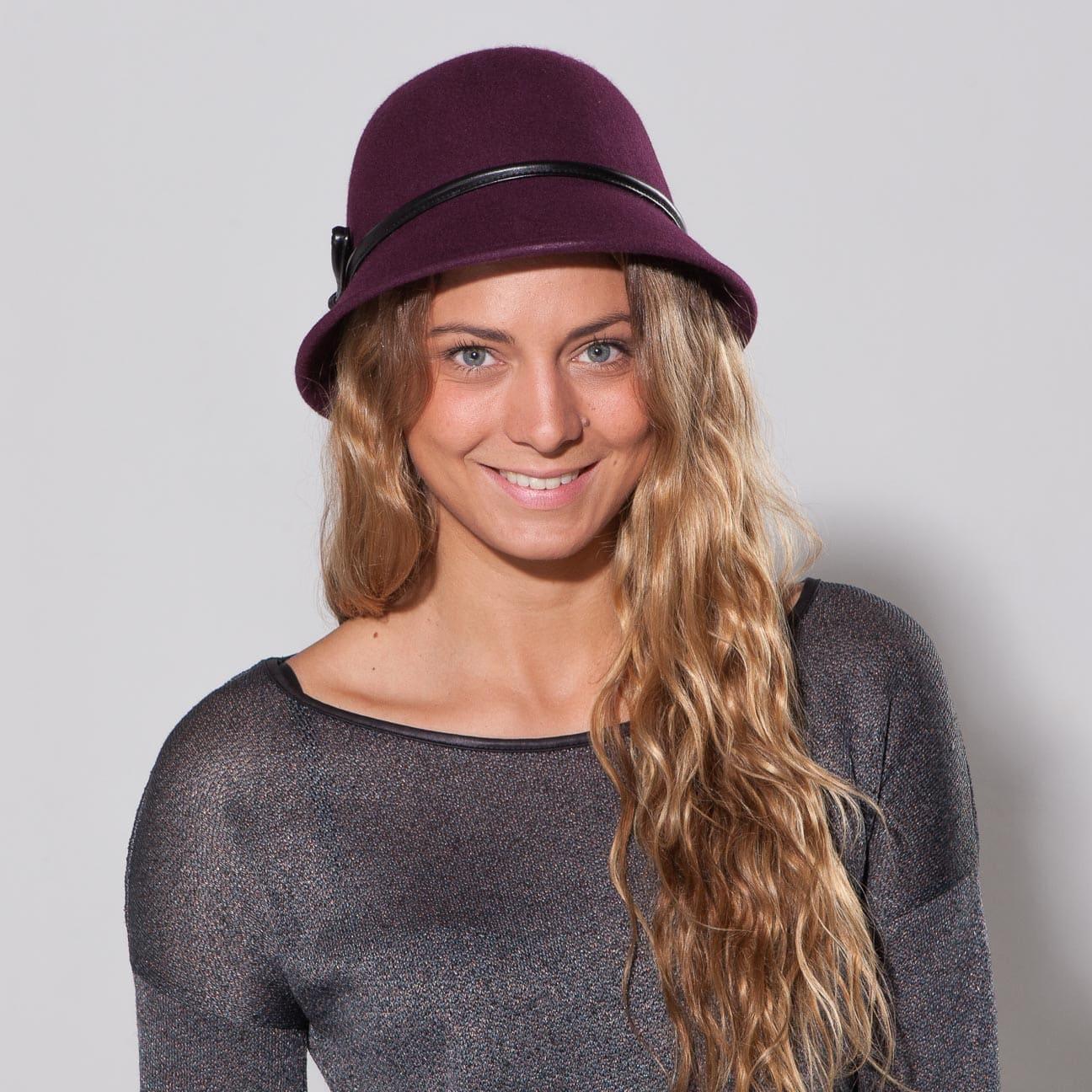 ... Christina Wool Felt Cloche Hat by Betmar 1 ... 3c7f46d4272