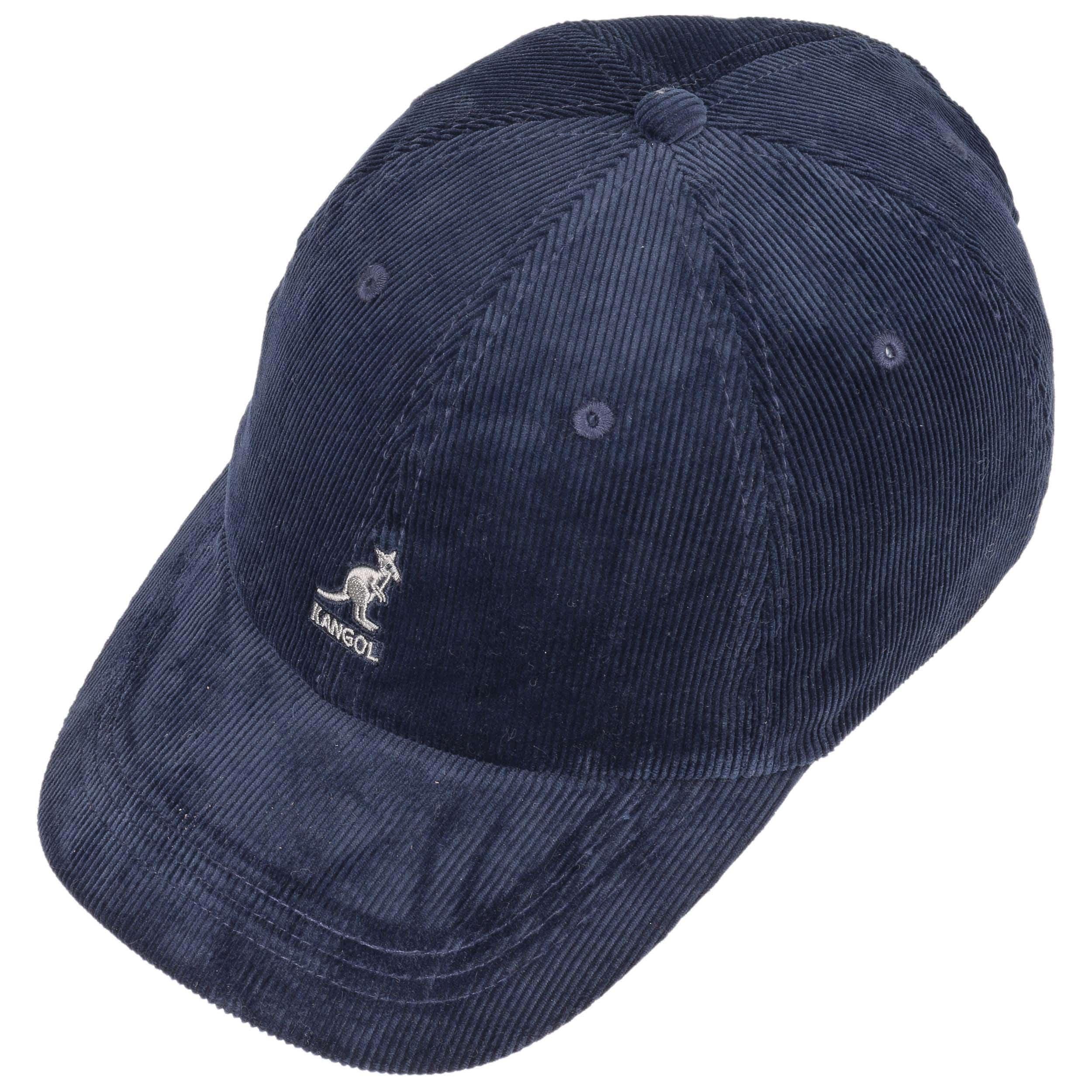7bfeb792a10 ... Classic Corduroy Baseball Cap by Kangol - black 1 ...