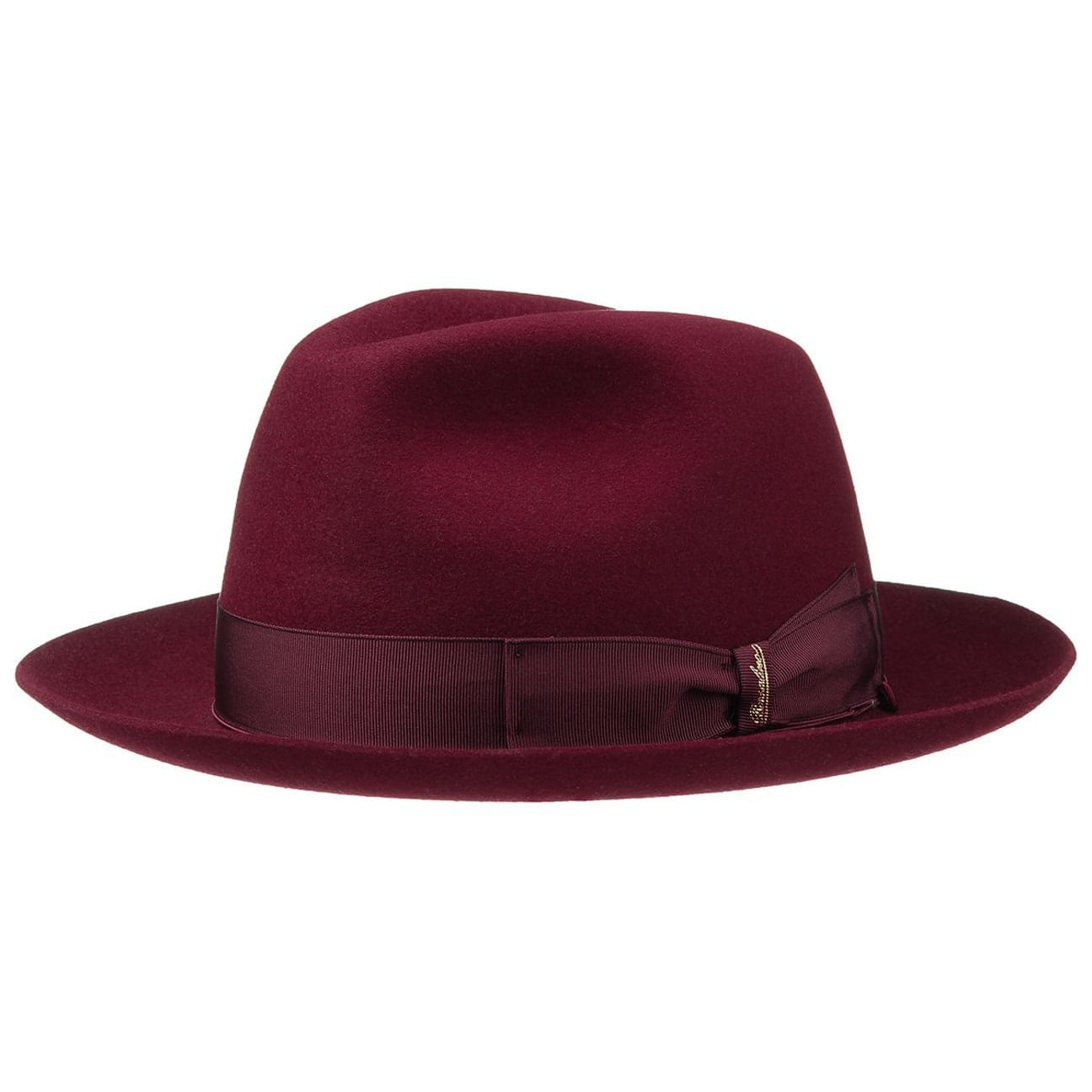 2e08d8dae9c33 ... Classic Hat by Borsalino - bordeaux 5 ...