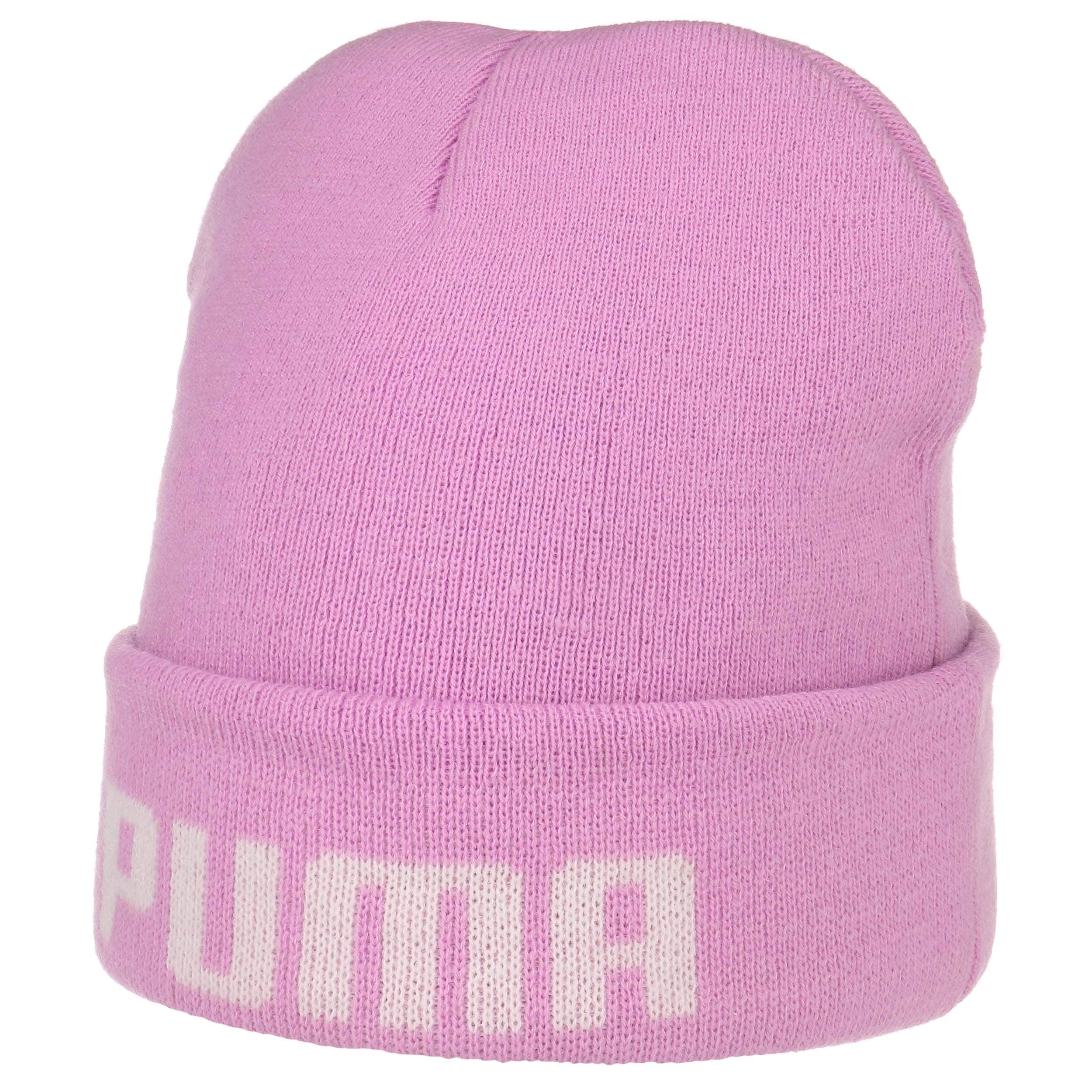 40c56276a32 ... official classic mid fit beanie hat by puma lilac 5 626ad 0967f
