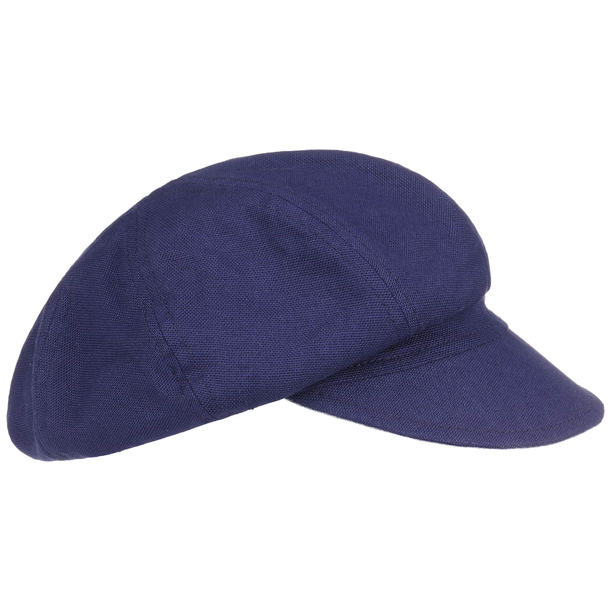 ... Classic Newsboy Cap by Seeberger - navy 6 ... 8c7928d0afc2