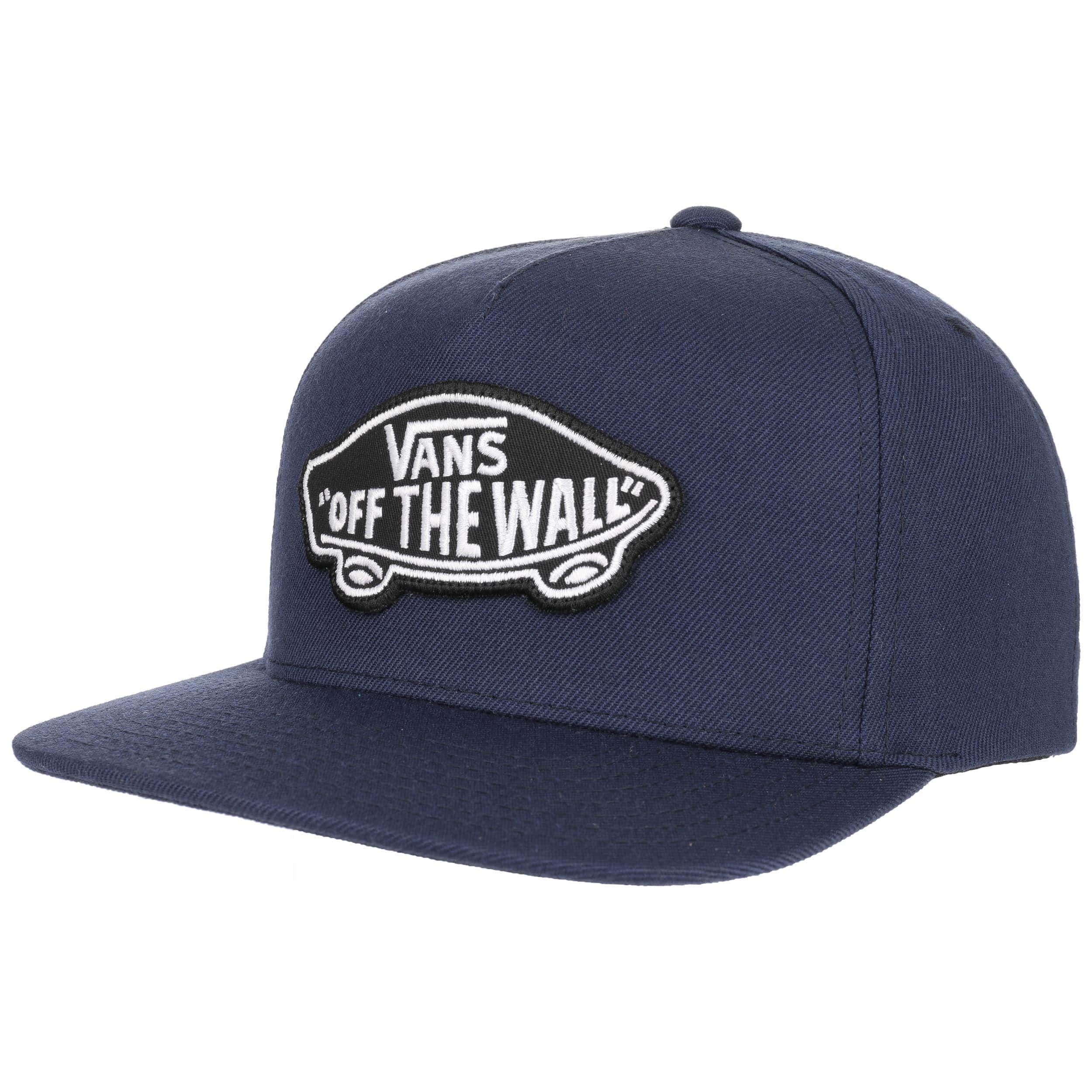 3d0469fa63 ... Classic Patch Snapback Cap by Vans - navy 5 ...