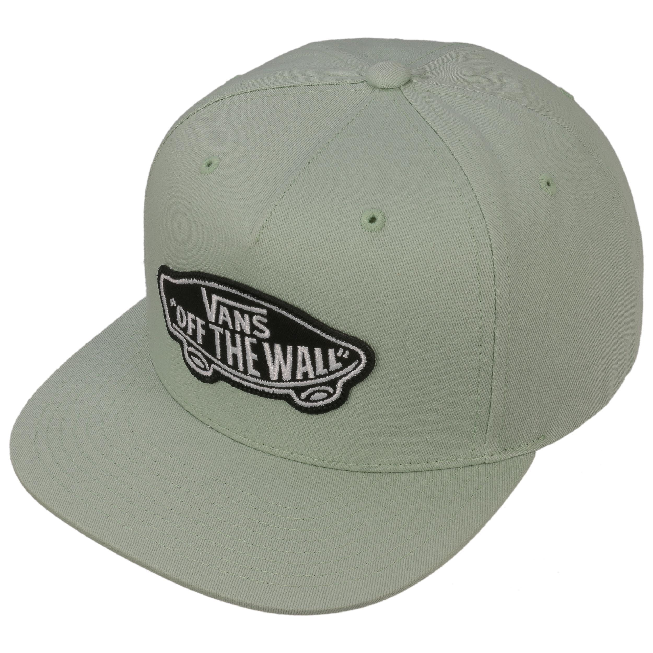 0593d3424f0b ... Classic Patch Snapback Cap by Vans - turquoise 1 ...