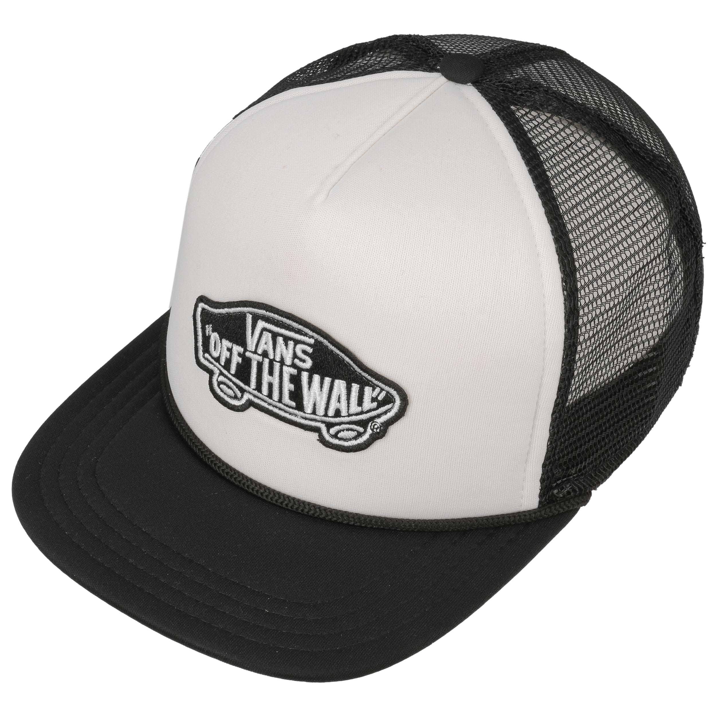 893fdb5a2bc ... Classic Patch Trucker Cap by Vans - black 1 ...
