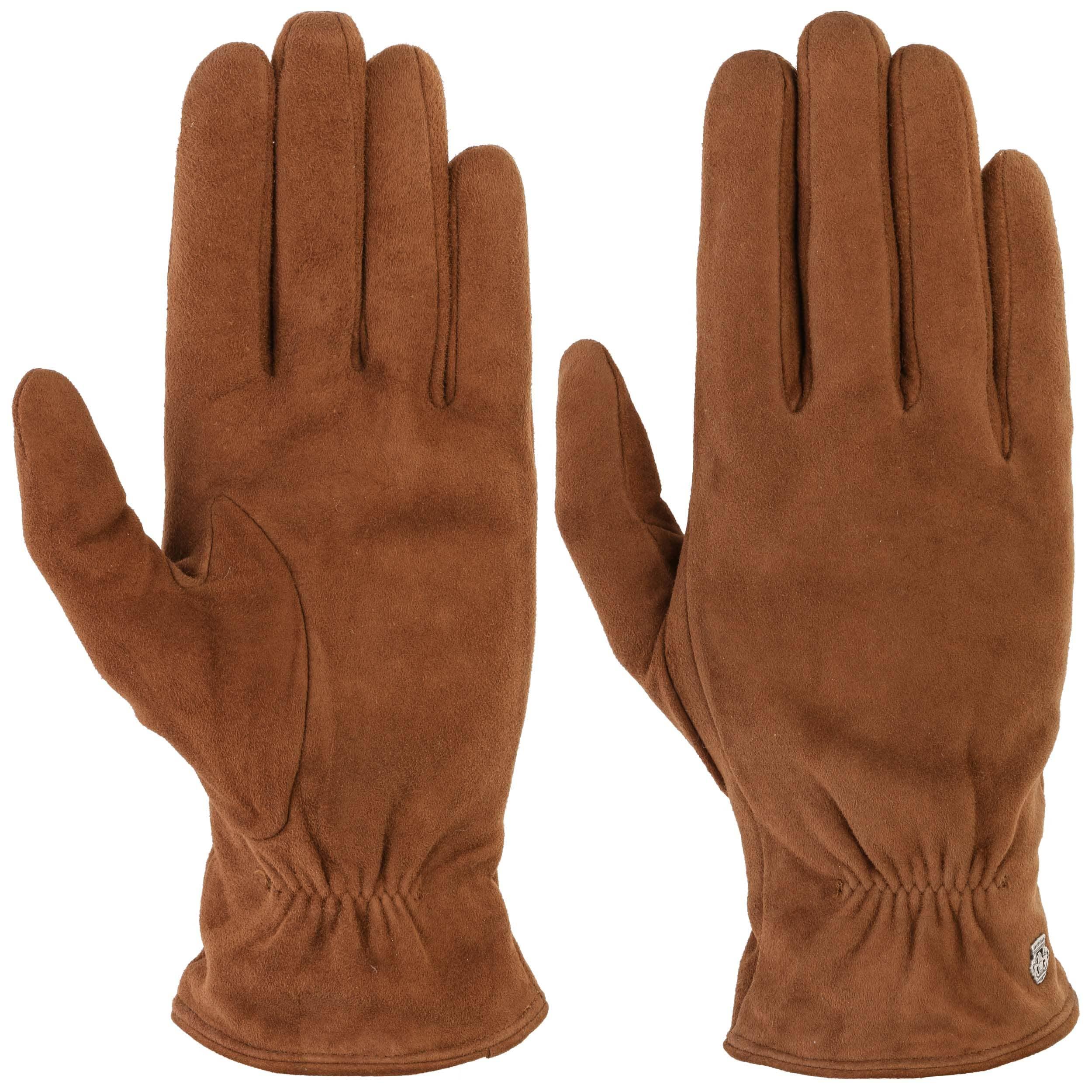5c730af7ac1f21 ... Classic Veloursleder Handschuhe by Roeckl - schwarz 2