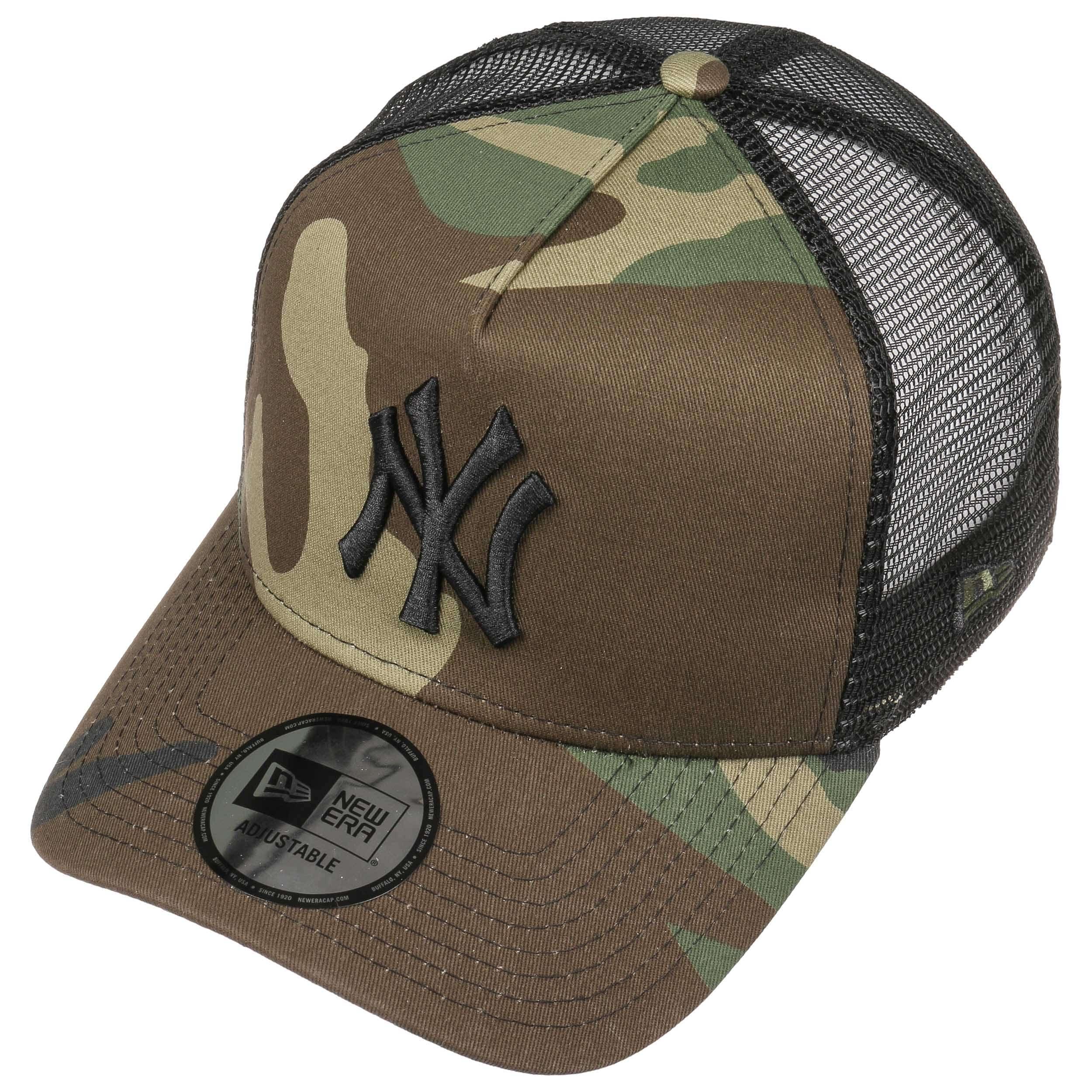 New Era Cappellino Trucker Camo Yankees Baseball cap Snapback