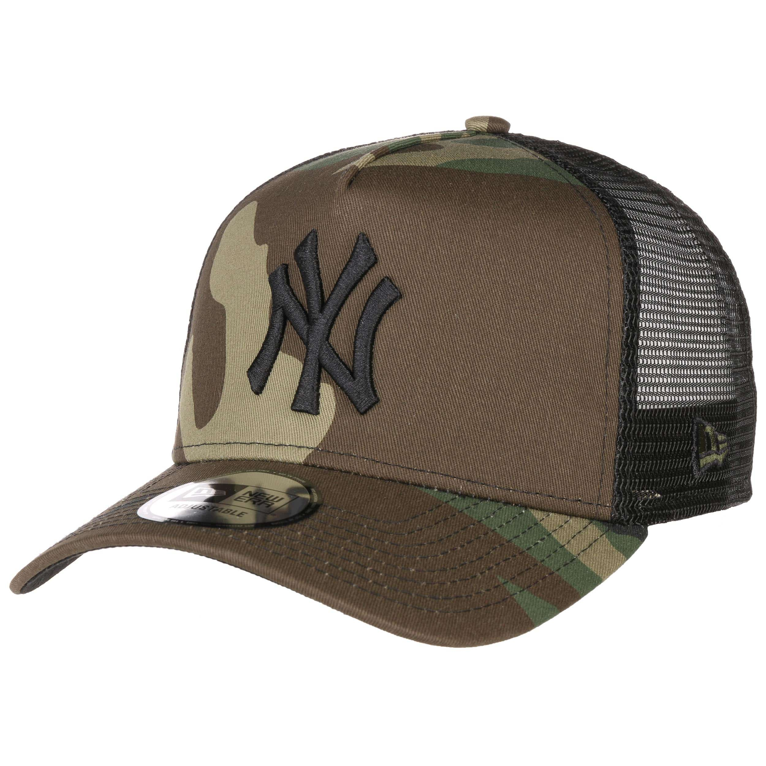 51340f0f73 Clean Camo Yankees Trucker Cap. by New Era