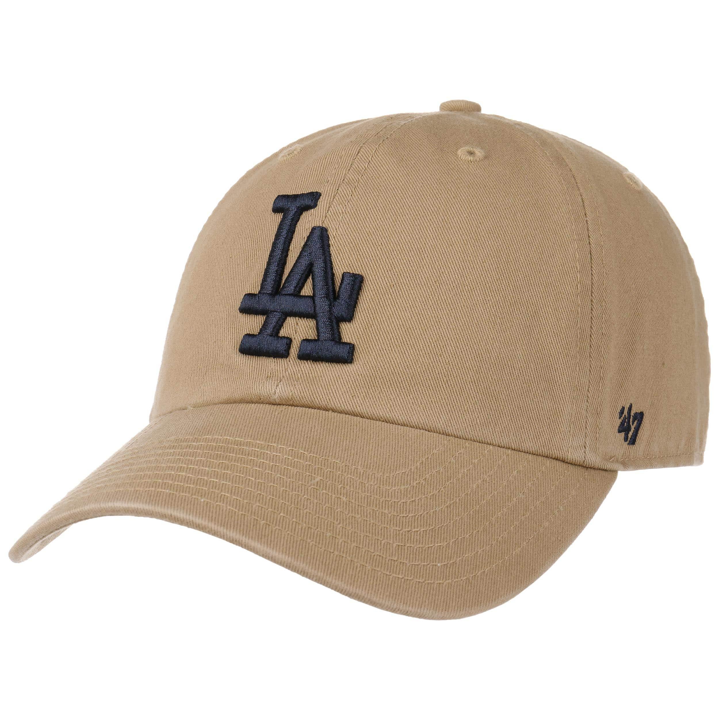 84bc5250ea8 ... Clean Up LA Dodgers Cap by 47 Brand - white-blue 6 ...