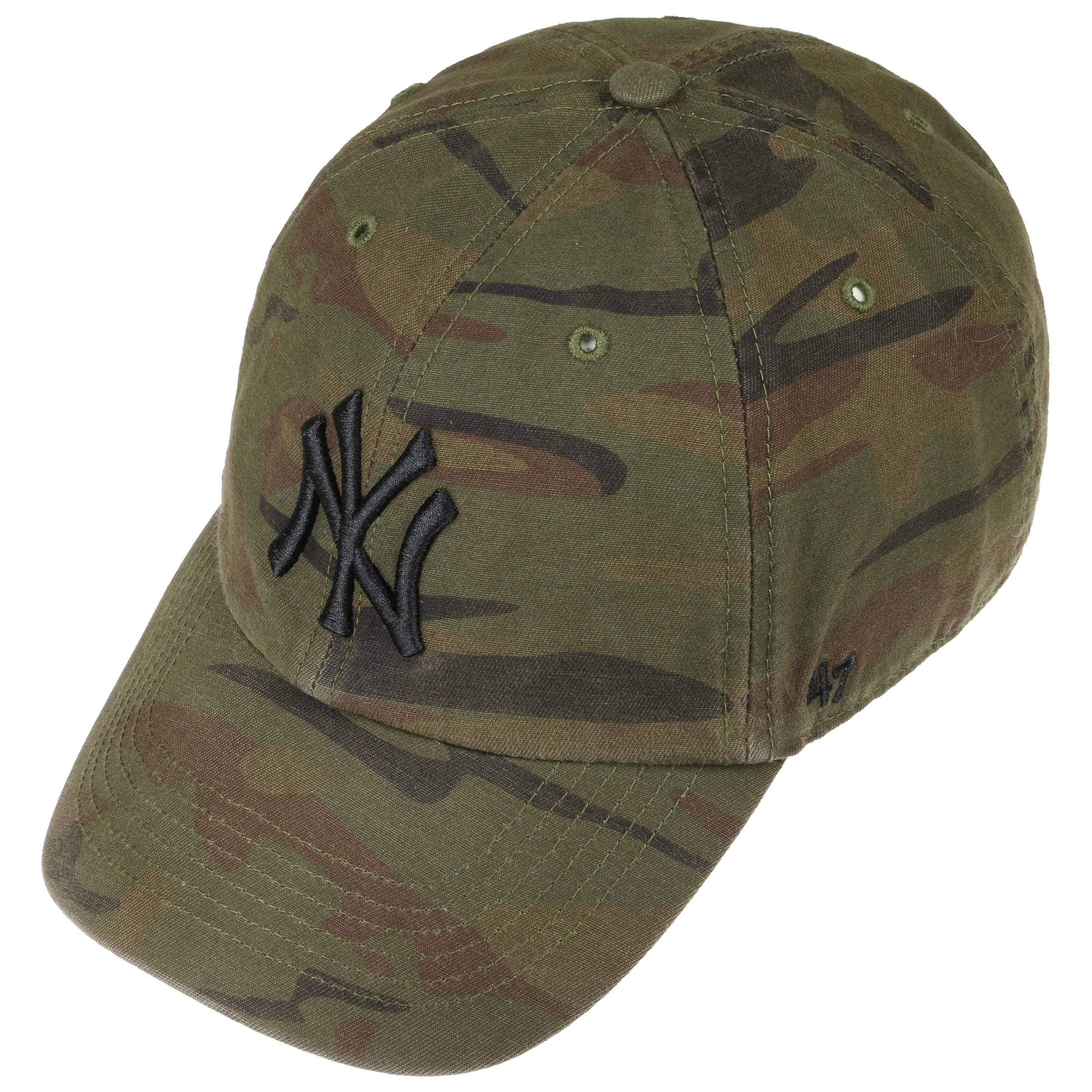 250187aabb4 Clean Up Regiment Yankees Cap by 47 Brand - camouflage 1 ...