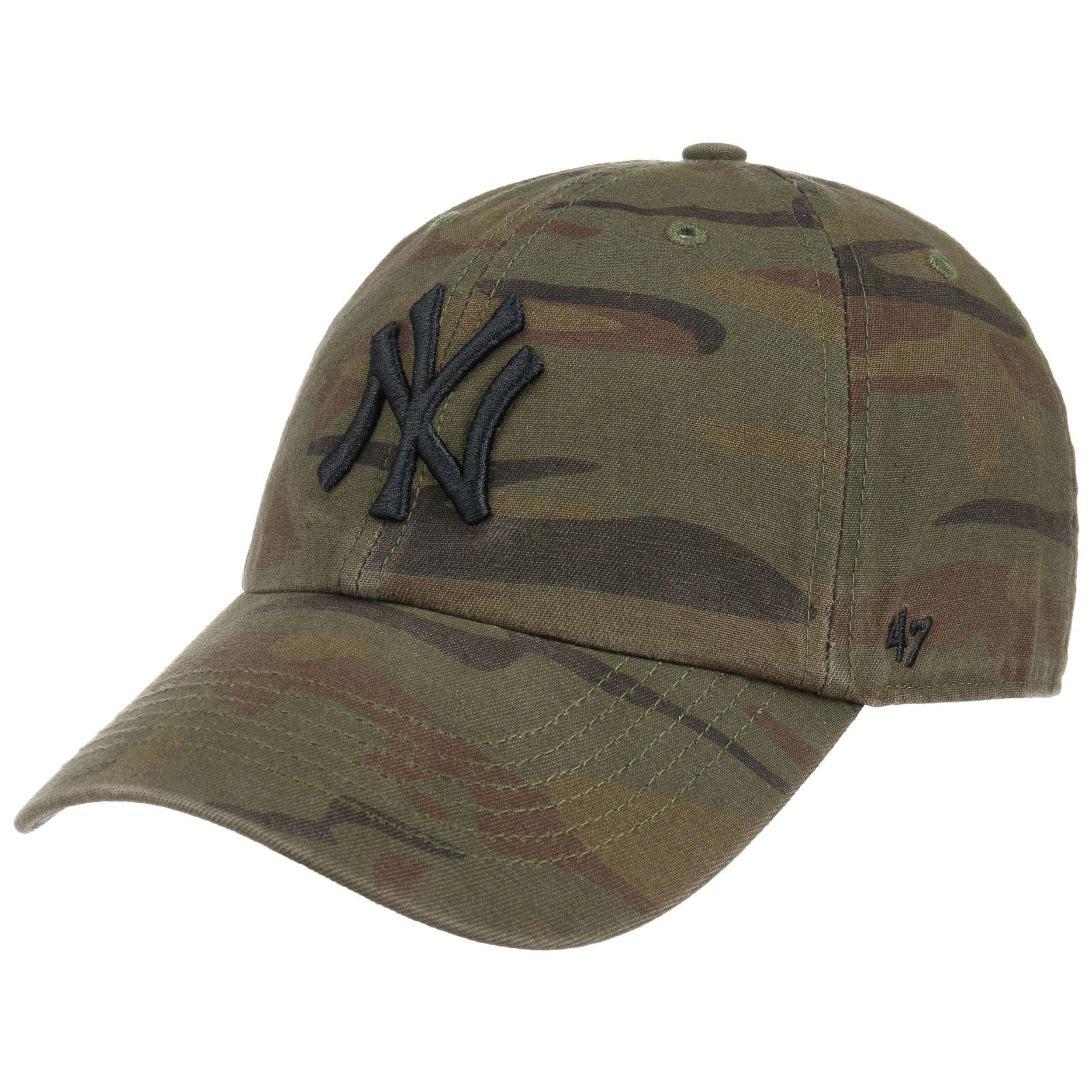 66b5944700a ... Clean Up Regiment Yankees Cap by 47 Brand - camouflage 6