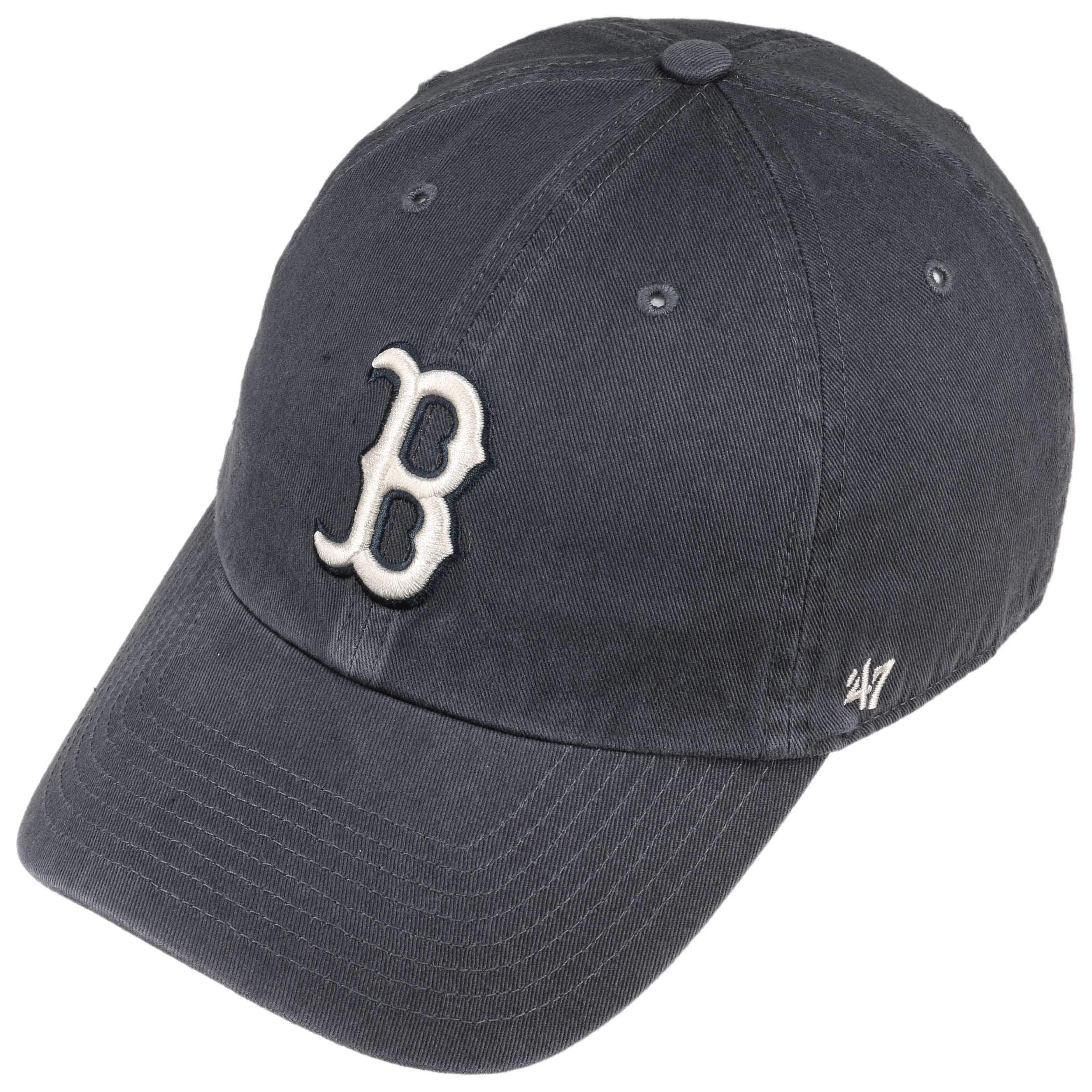Clean Up Vintage Red Sox Cap by 47 Brand - blue 1 ... f53b1184b03