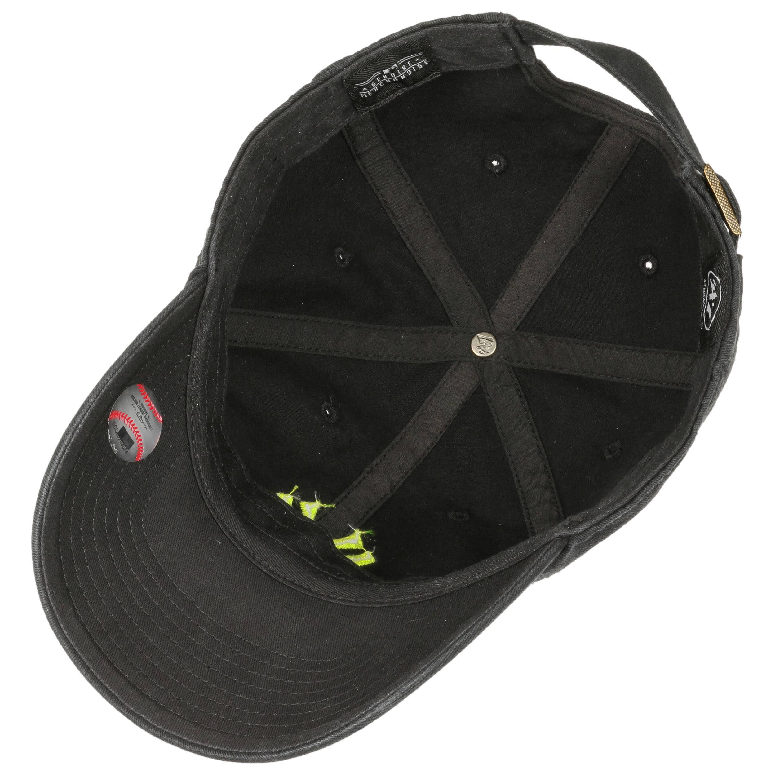 34d61309310 ... Clean Up Yankees Neon Cap by 47 Brand - black-pink 2 ...