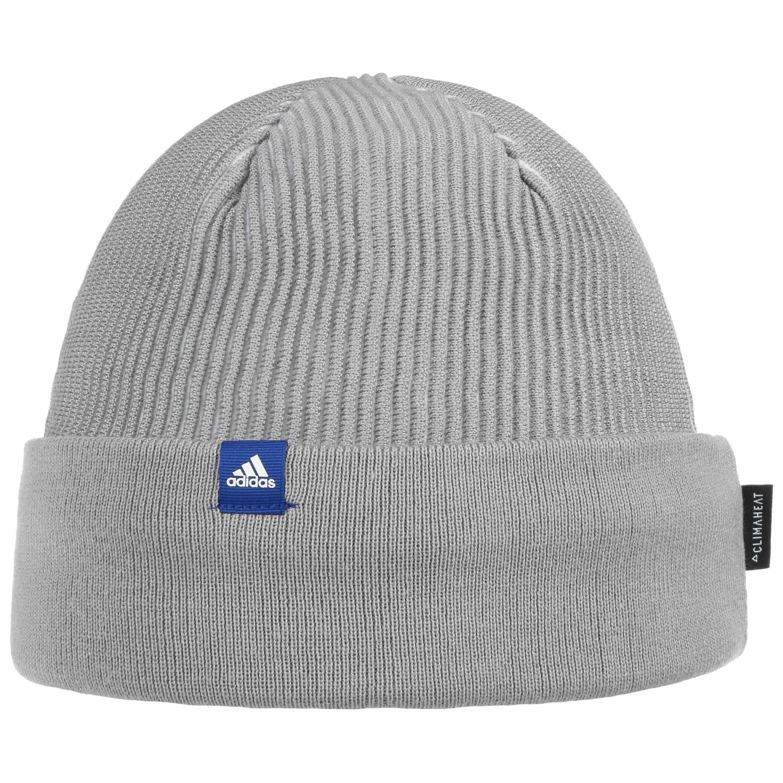 7eef5815b45 ... Climaheat Rib Beanie Hat by adidas - light grey 4 ...