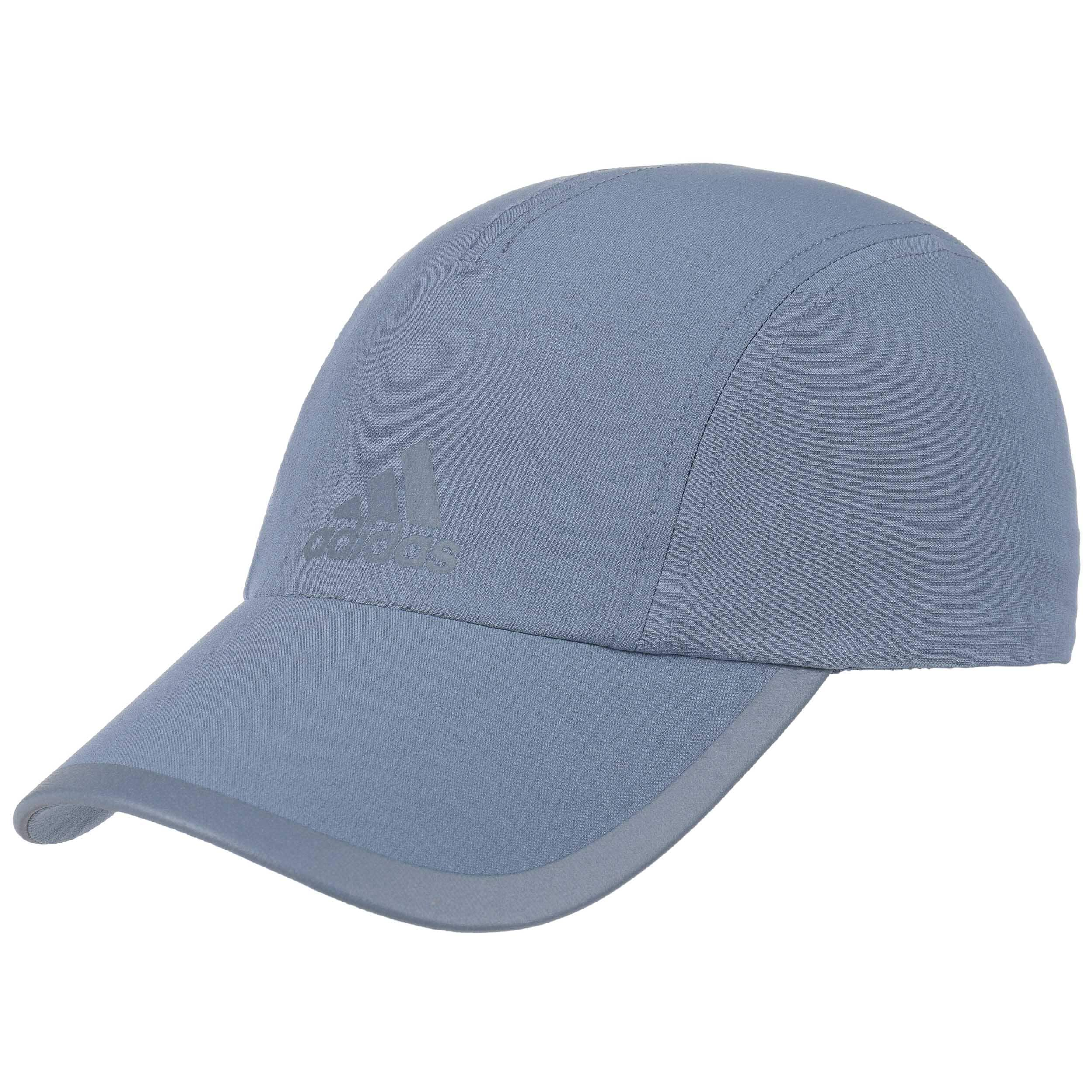 ... Climalite Running Cap by adidas - blue 5 ... 7a25dc530ad