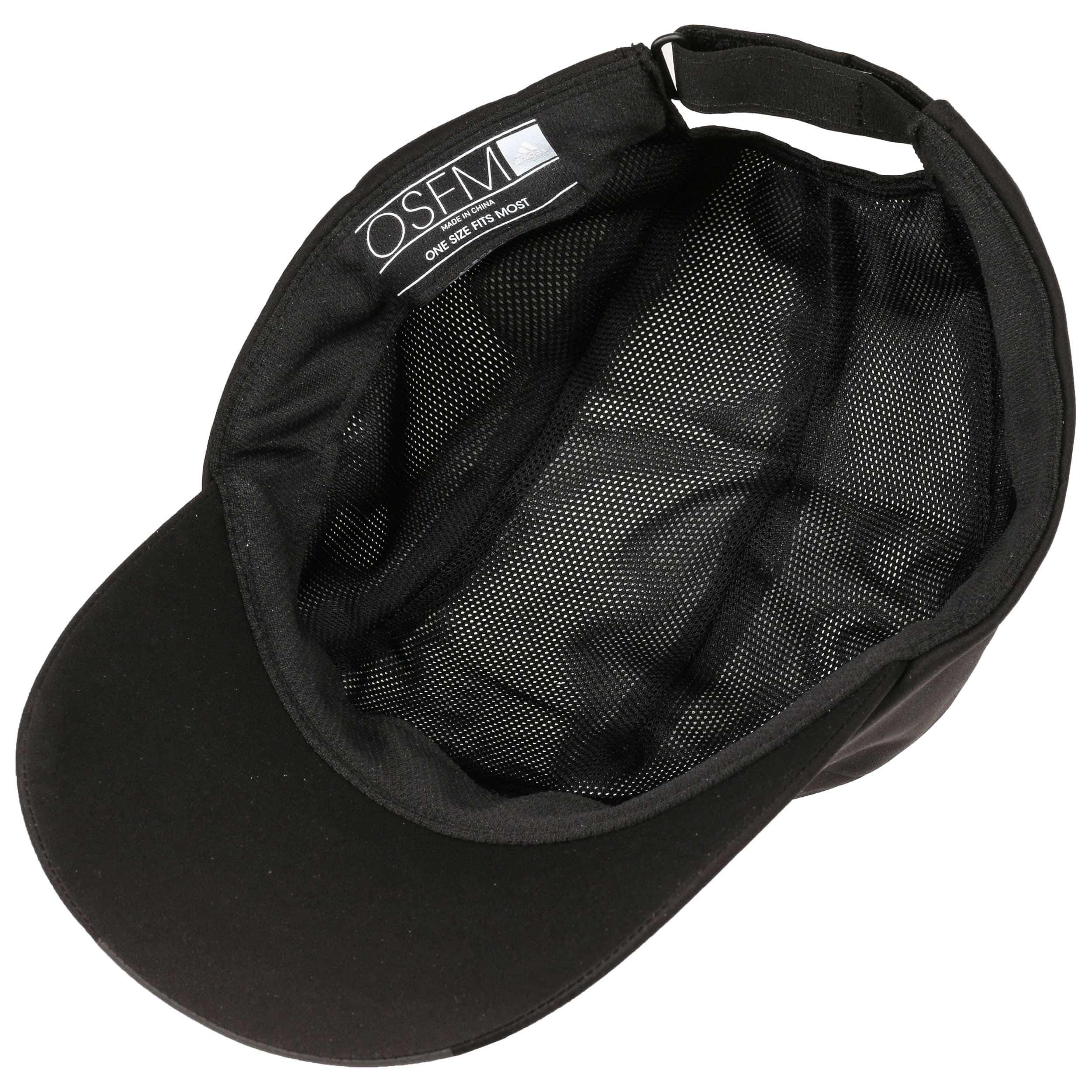 5b7df6d4bad281 ... Climaproof Running Strapback Cap by adidas - black 2 ...