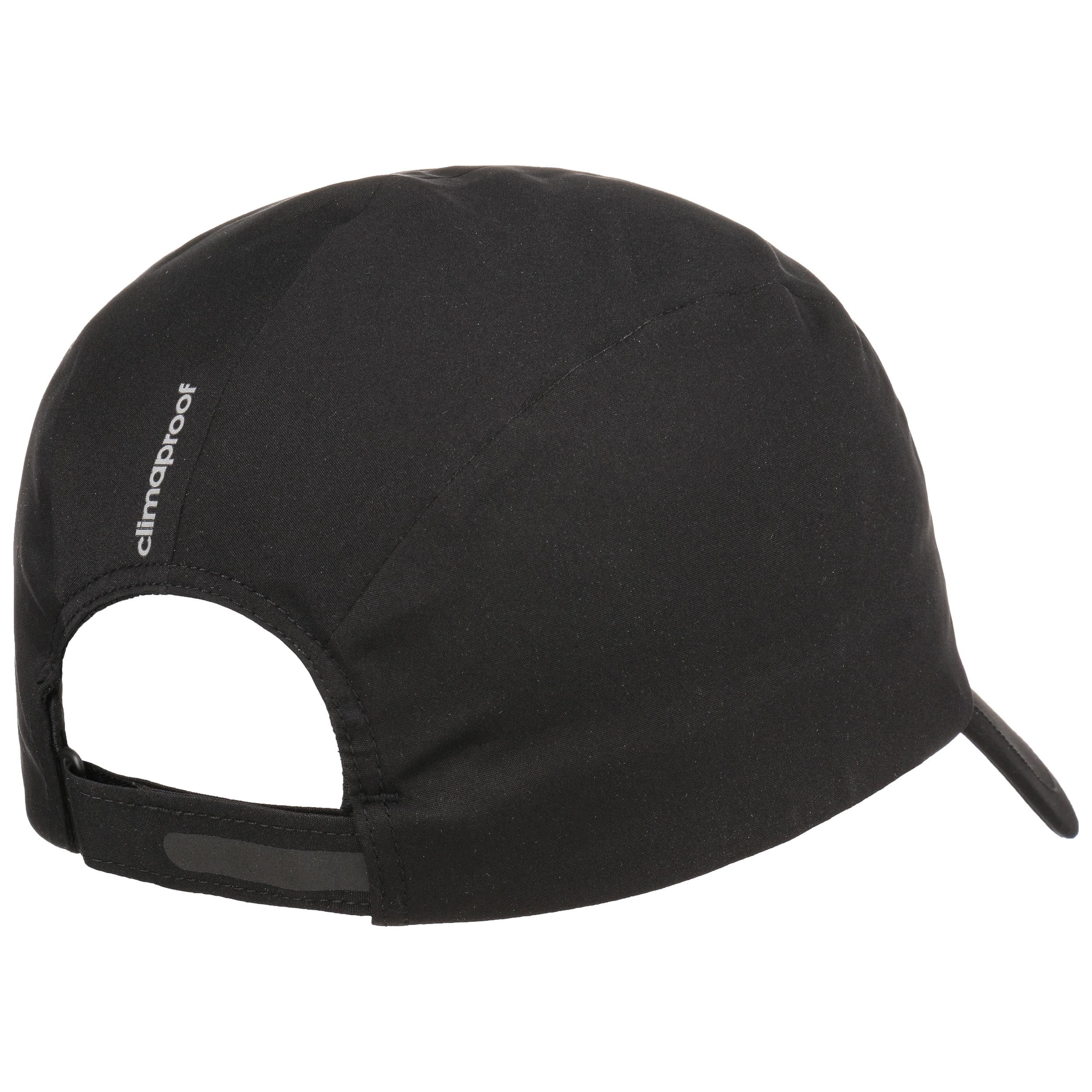7871290cf63bb2 ... Climaproof Running Strapback Cap by adidas - black 3 ...