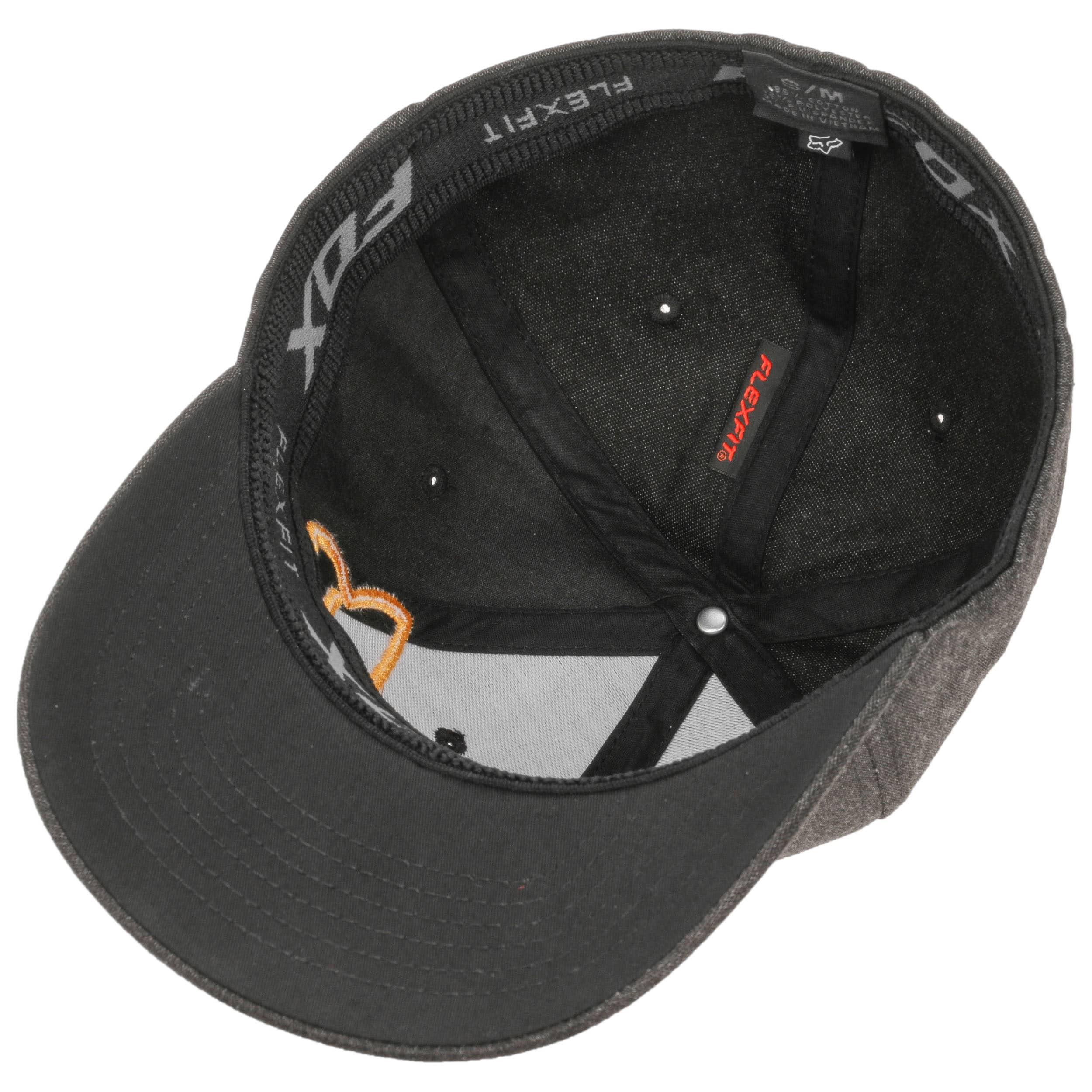 9fc4347320cdc ... free shipping clouded flexfit cap by fox black 2 12a90 956b4