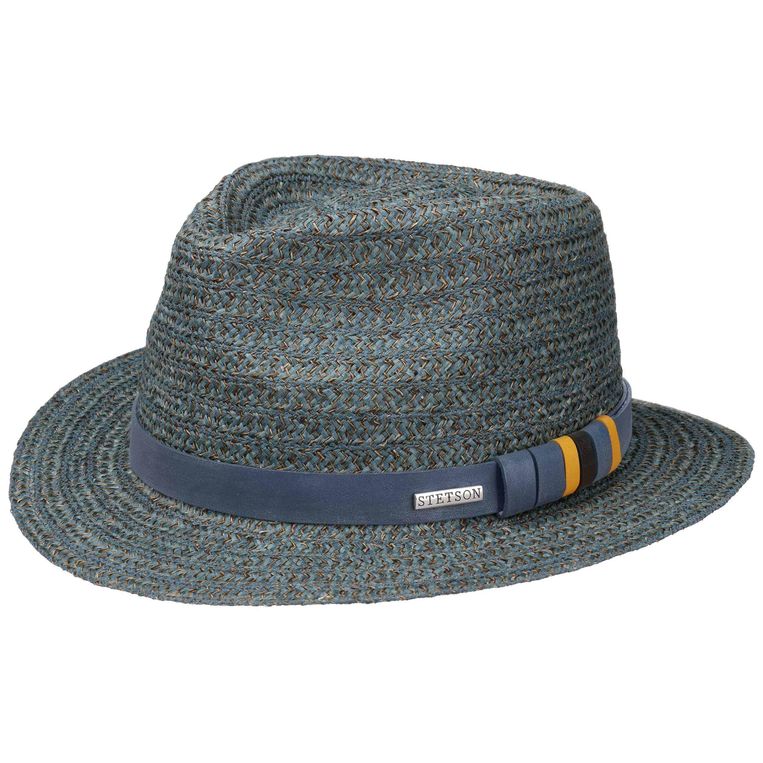 Conargo Traveller Hemp Hat by Stetson - petrol blue 1 2616efc0a04