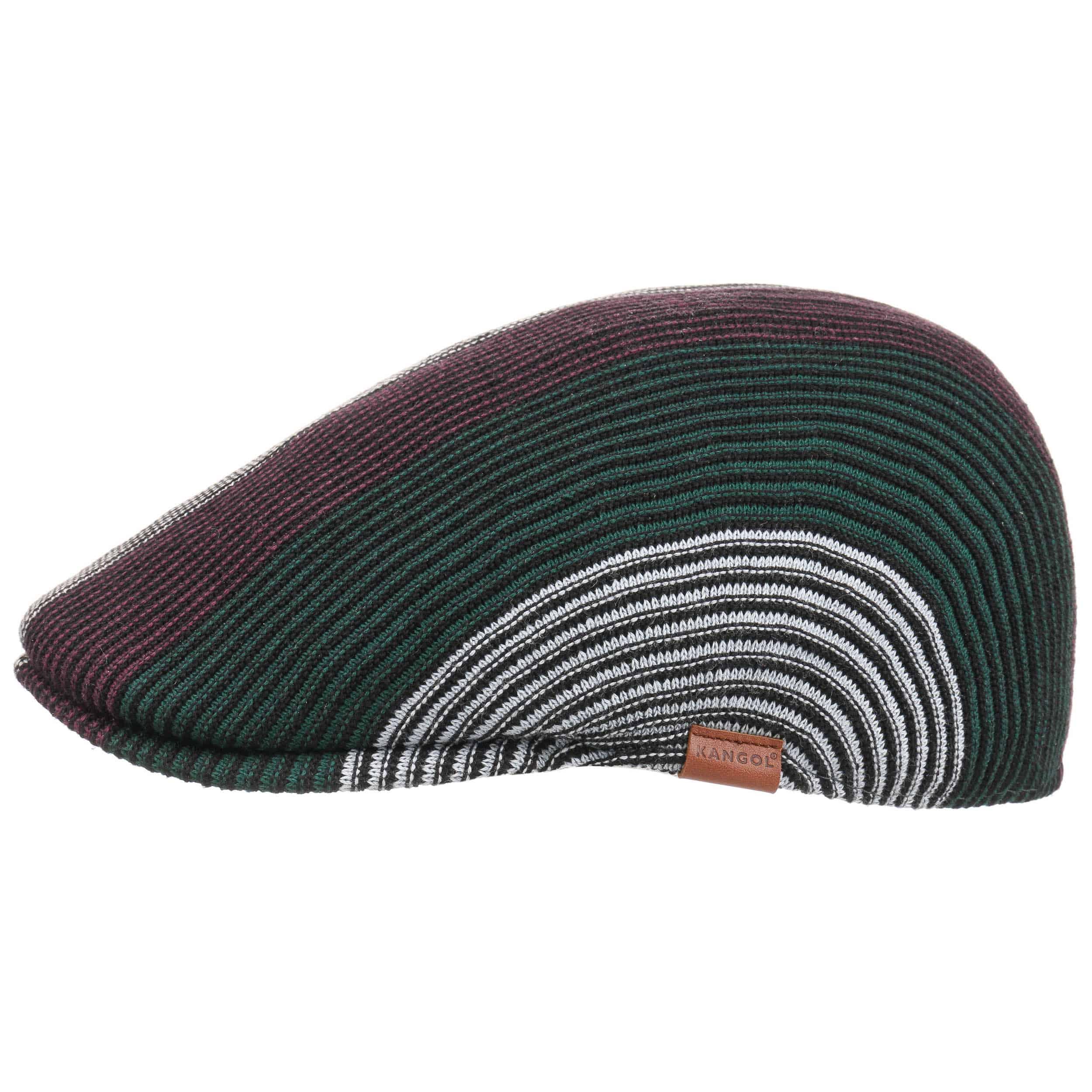 ... Conduit Stripe 507 Flat Cap by Kangol - purple 5 8061dc4ab95