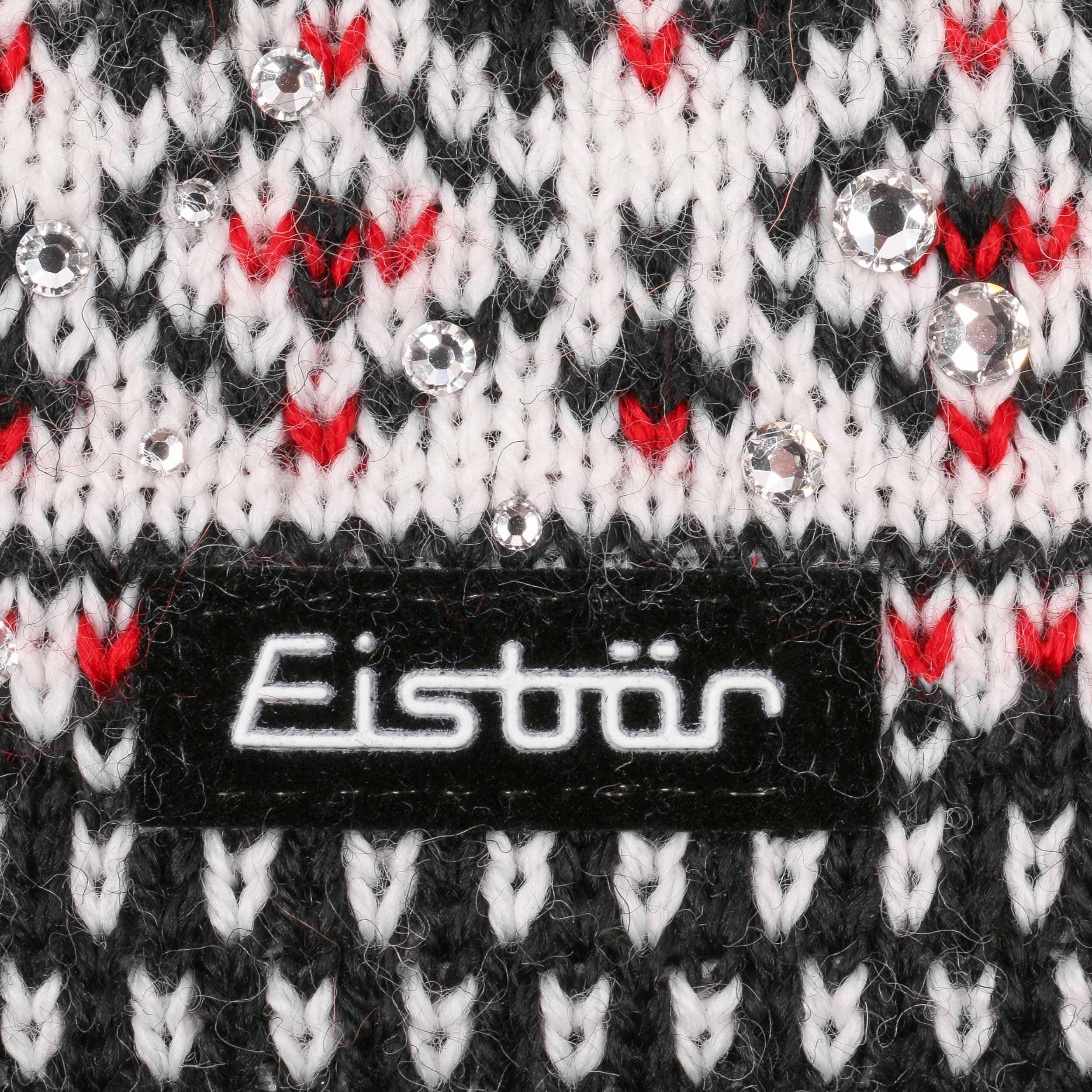 a0215da0124 ... Connor Pompom Hat by Eisbär - black 2 ...