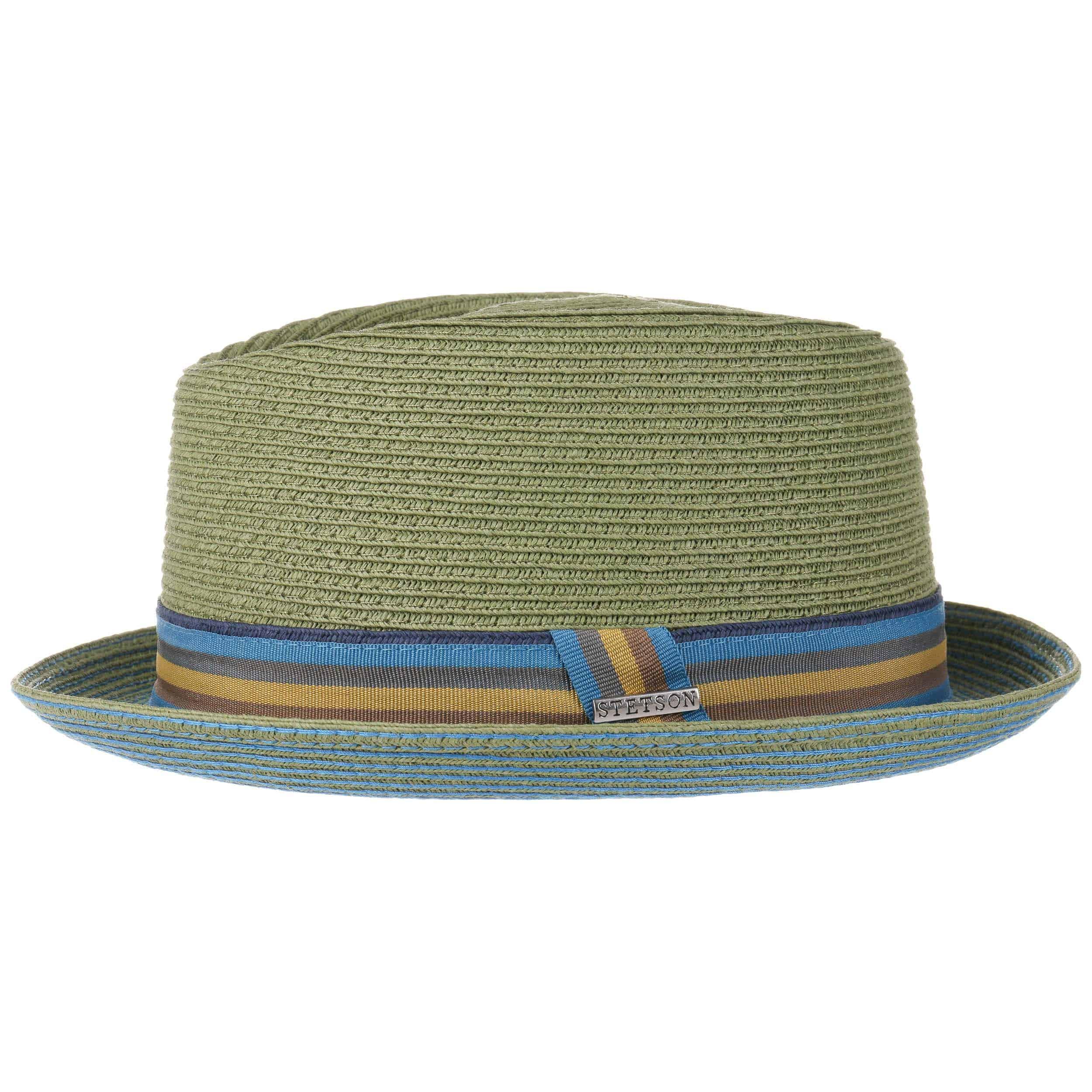 be4c0fd462e ... 4 · Contrast Stitch Toyo Diamond Hat by Stetson - green 1 ...
