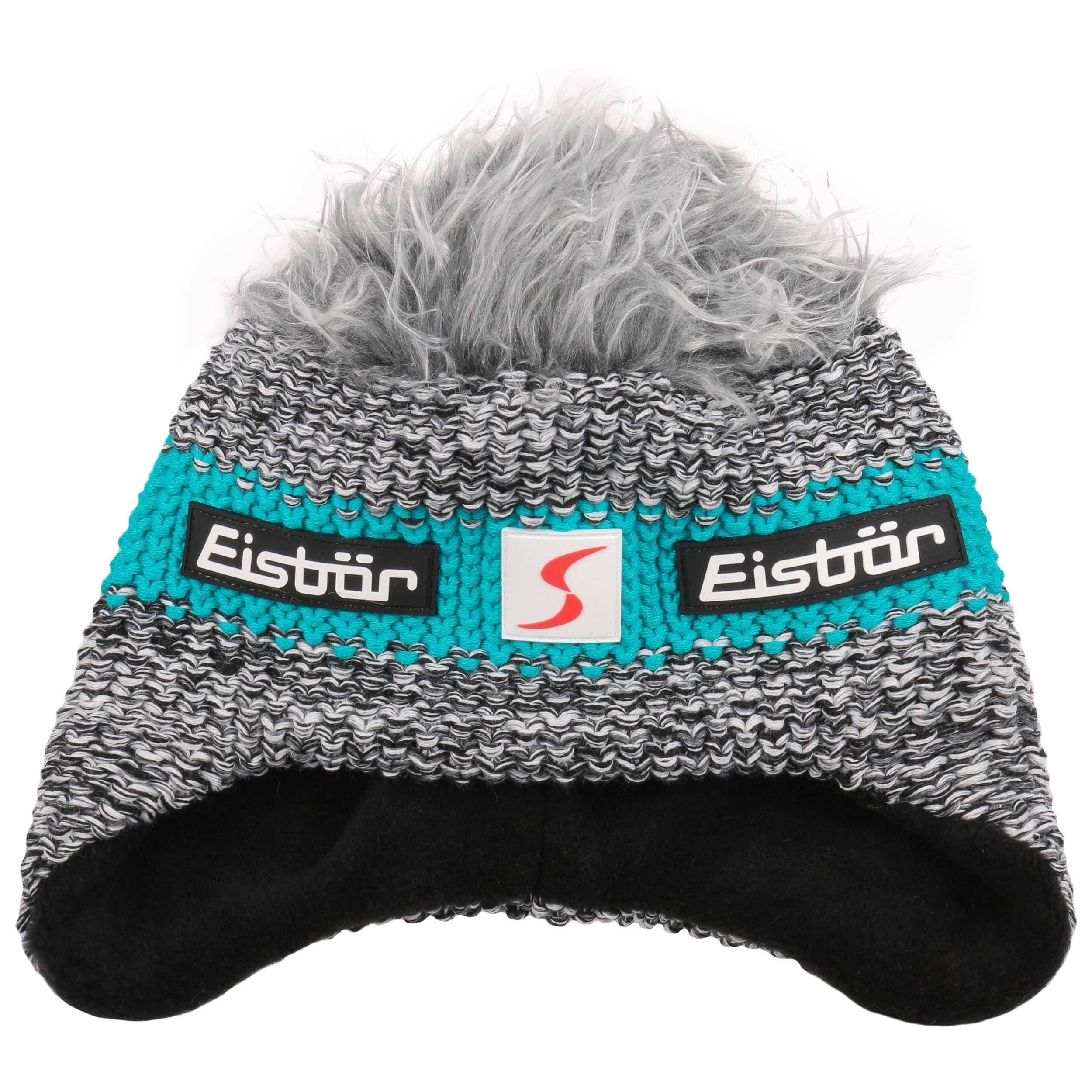 ... Contrast Stripe Cocker Ski Hat by Eisbär - turquoise 1 ... c18693a045d