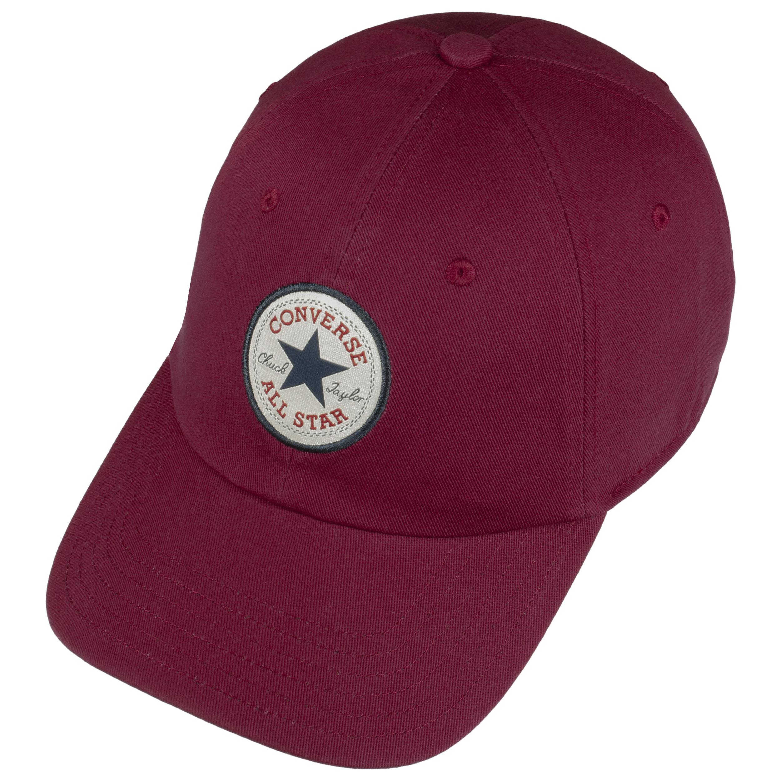 4d830b09afa ... Core Classic Baseball Cap by Converse - bordeaux 1 ...