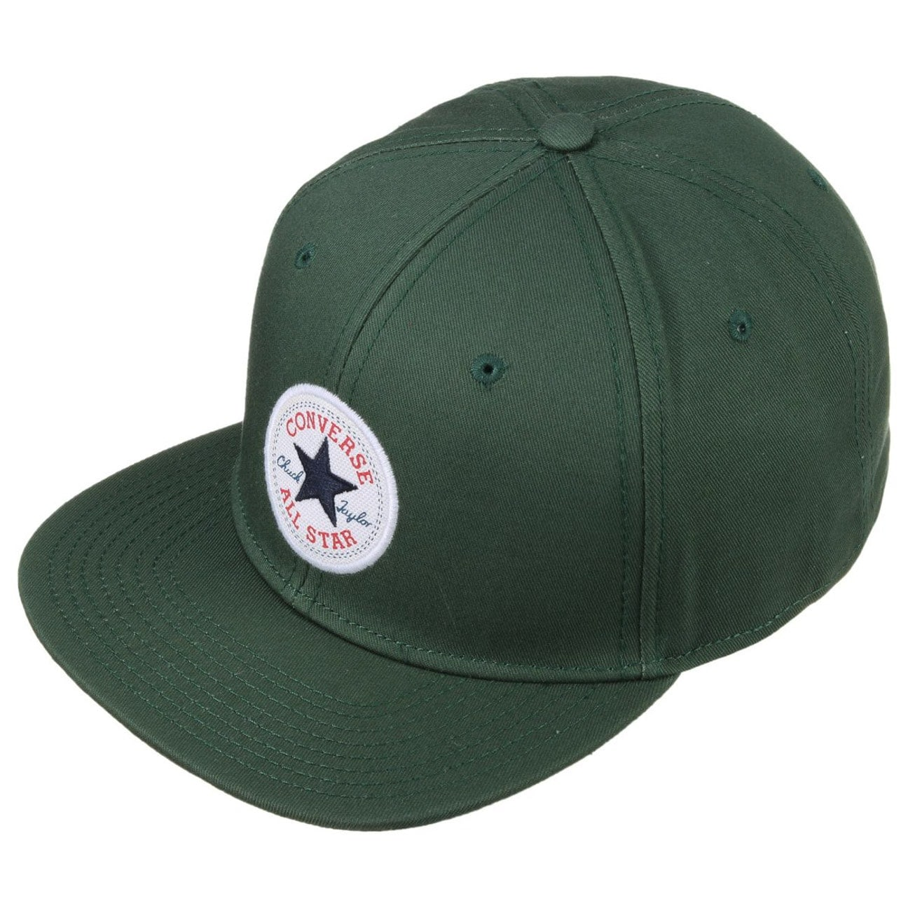 ... Core Twill Snapback Cap by Converse - dark green 2 ... 722dc8d8988