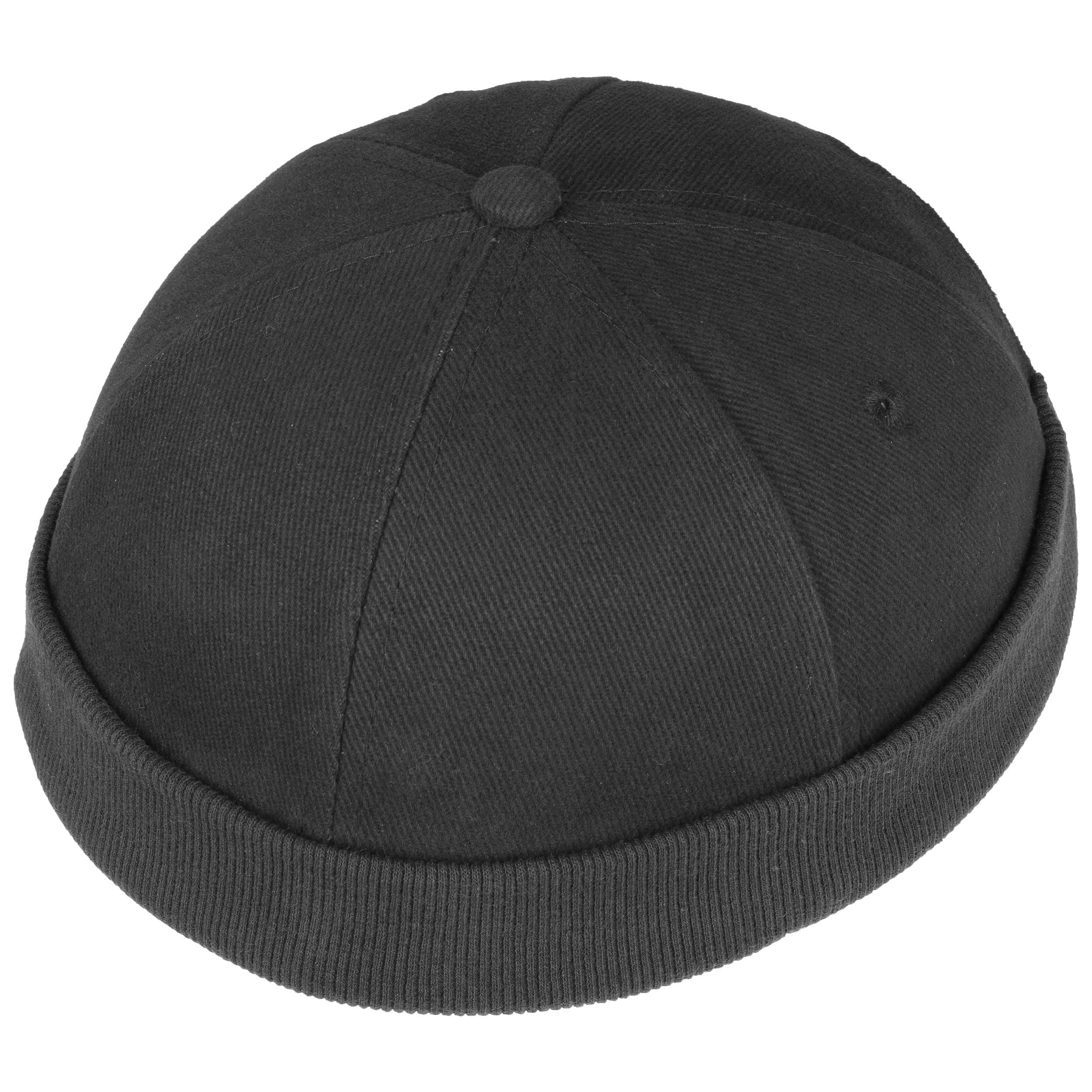 888b8a95d9f ... Cotton Docker Cap - black 1 ...