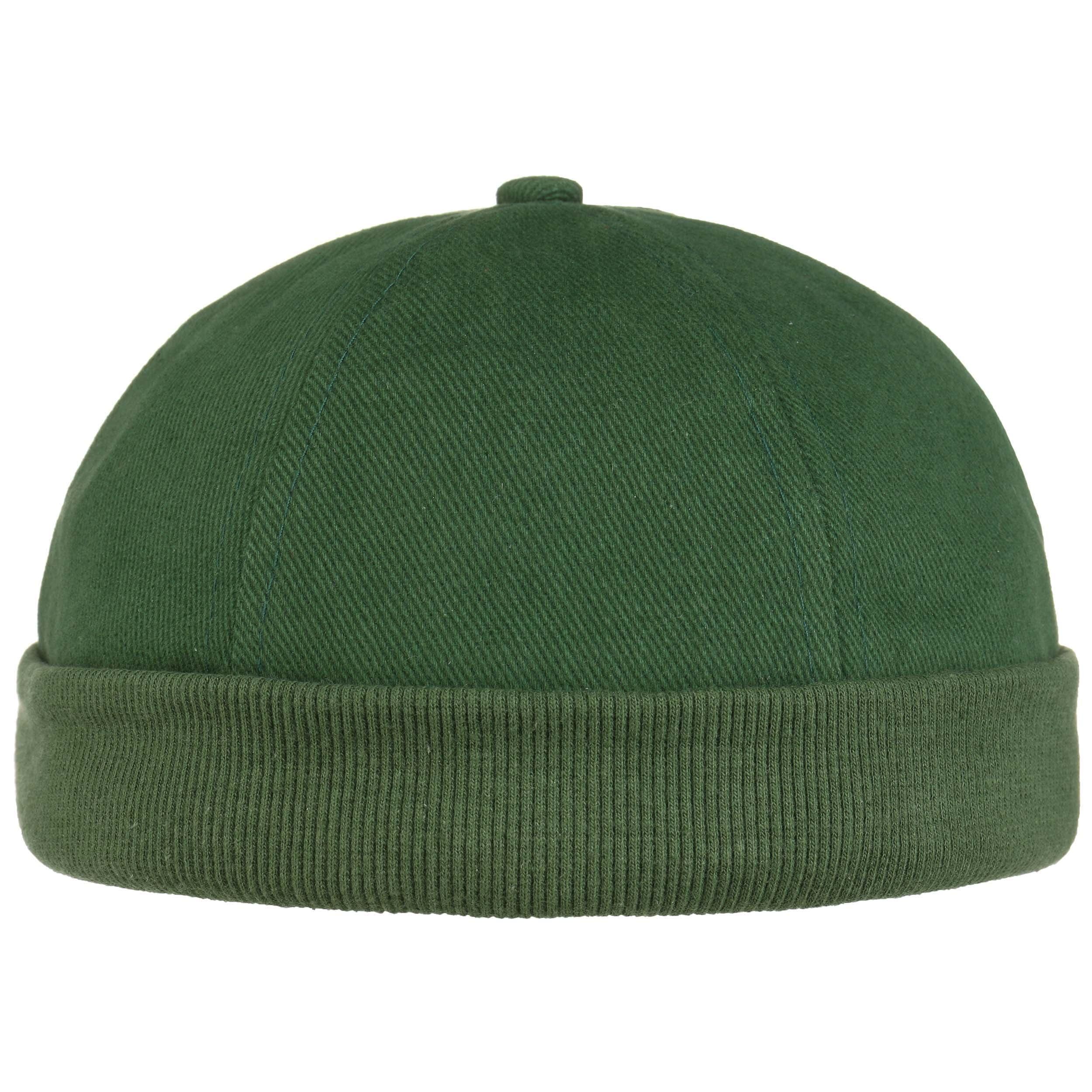 ... Cotton Docker Cap - dark green 6 ... 2f128385f56