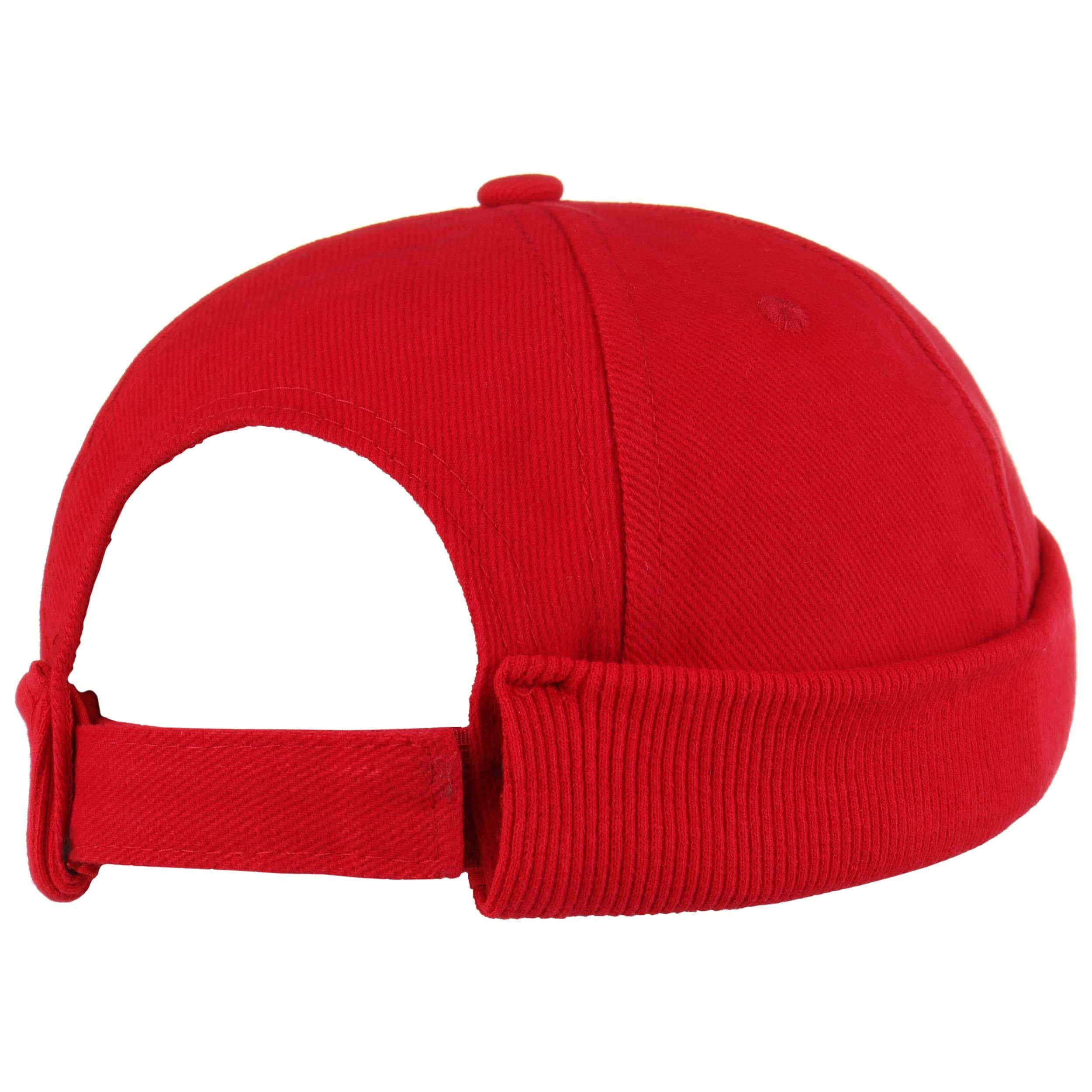 0ae4f49e34c ... Cotton Docker Cap - red 3 ...