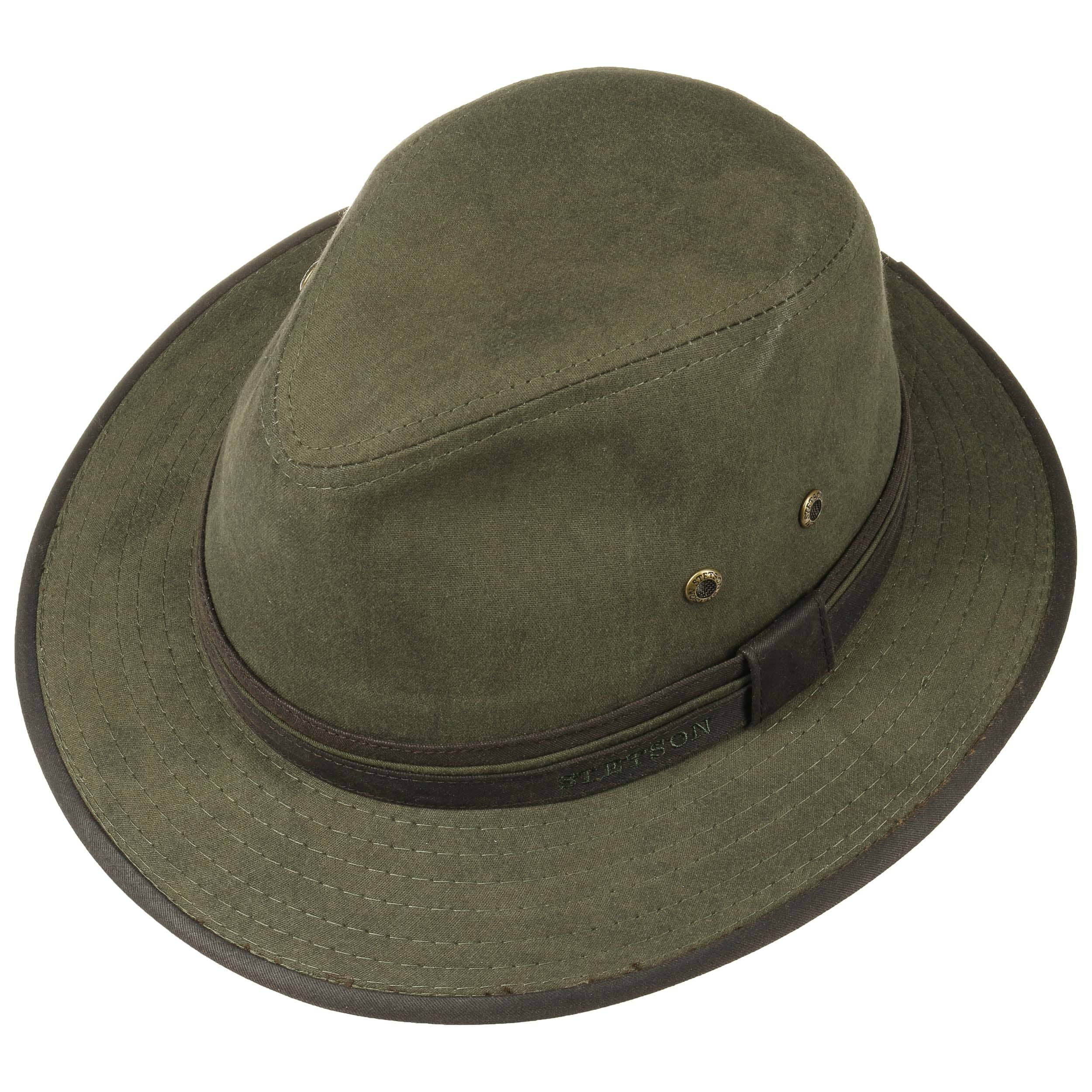 Outlet Fast Delivery Cadosia Cotton Traveller Hat by Stetson Sun hats Stetson Countdown Package Sale Online Buy Cheap Price pLrSuwb7S