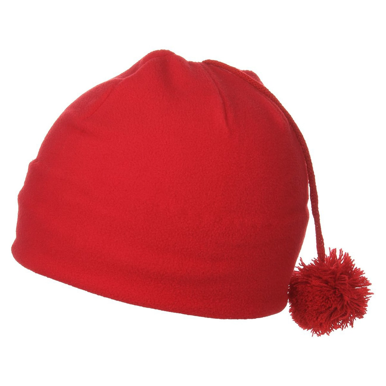 688126ecdec ... Courmayer Women´s Fleece Pom Pom Hat - red 1 ...