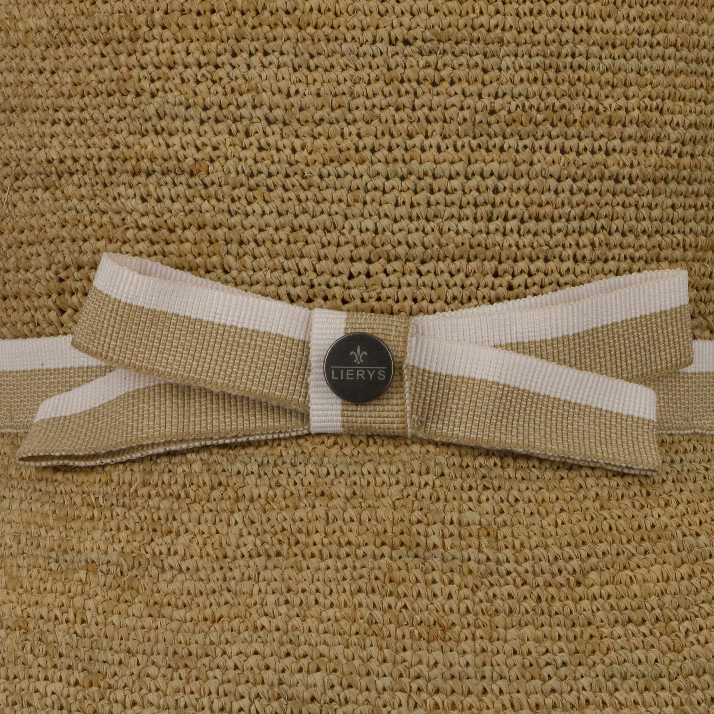 Crochet Straw Cloche Raffia Hat by Lierys Sun hats Lierys jrd63Z