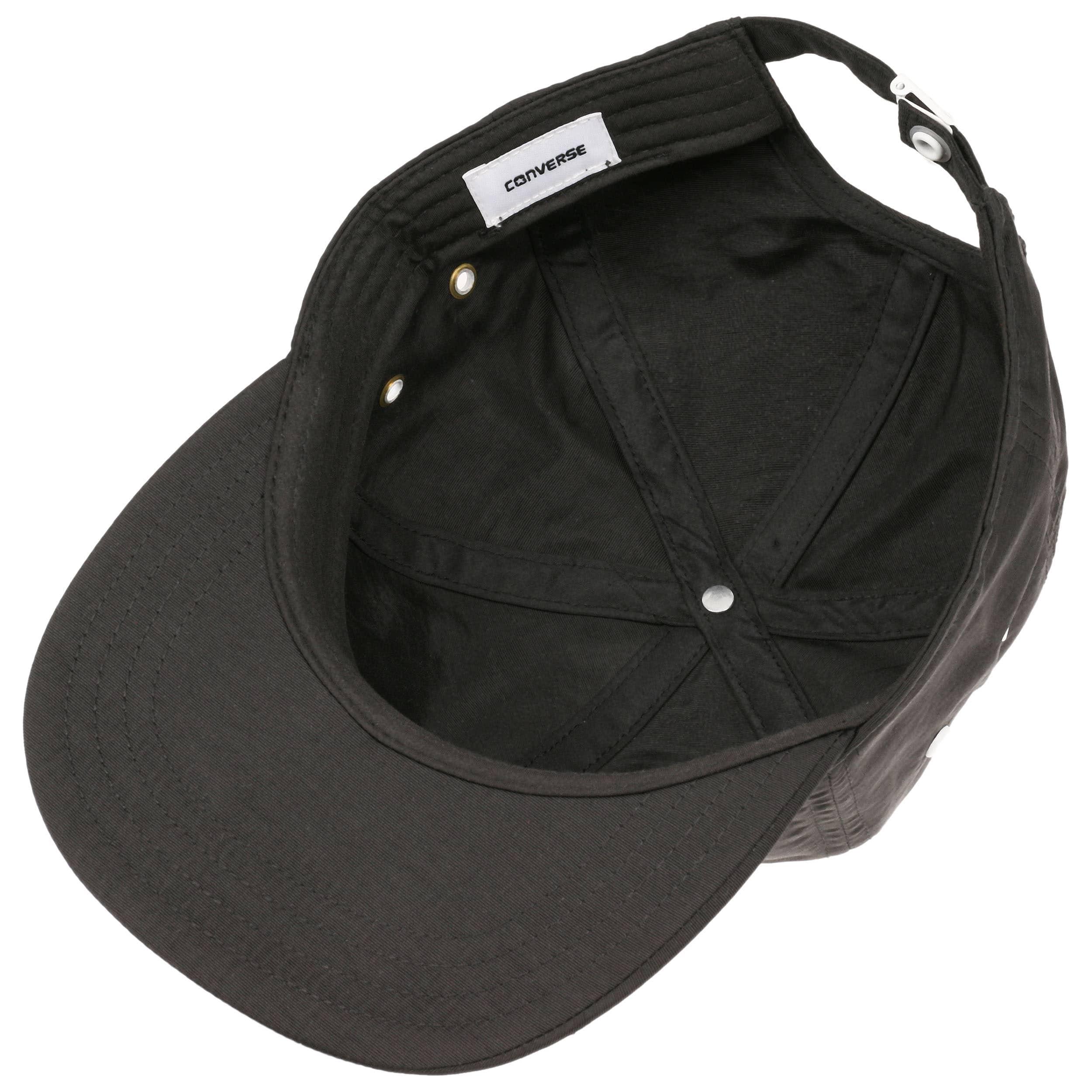 ... Crushable Snapback Cap by Converse - black 2 ... 5b7da3e422e