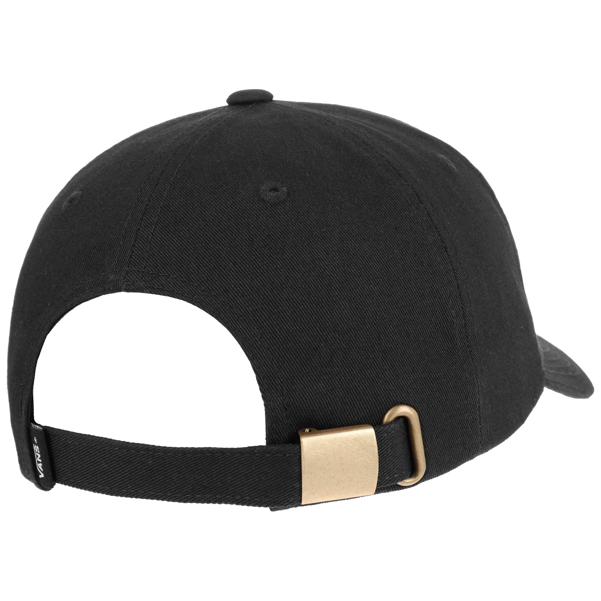 6a56b5adee5 ... Curved Bill Strapback Cap by Vans - black 3 ...