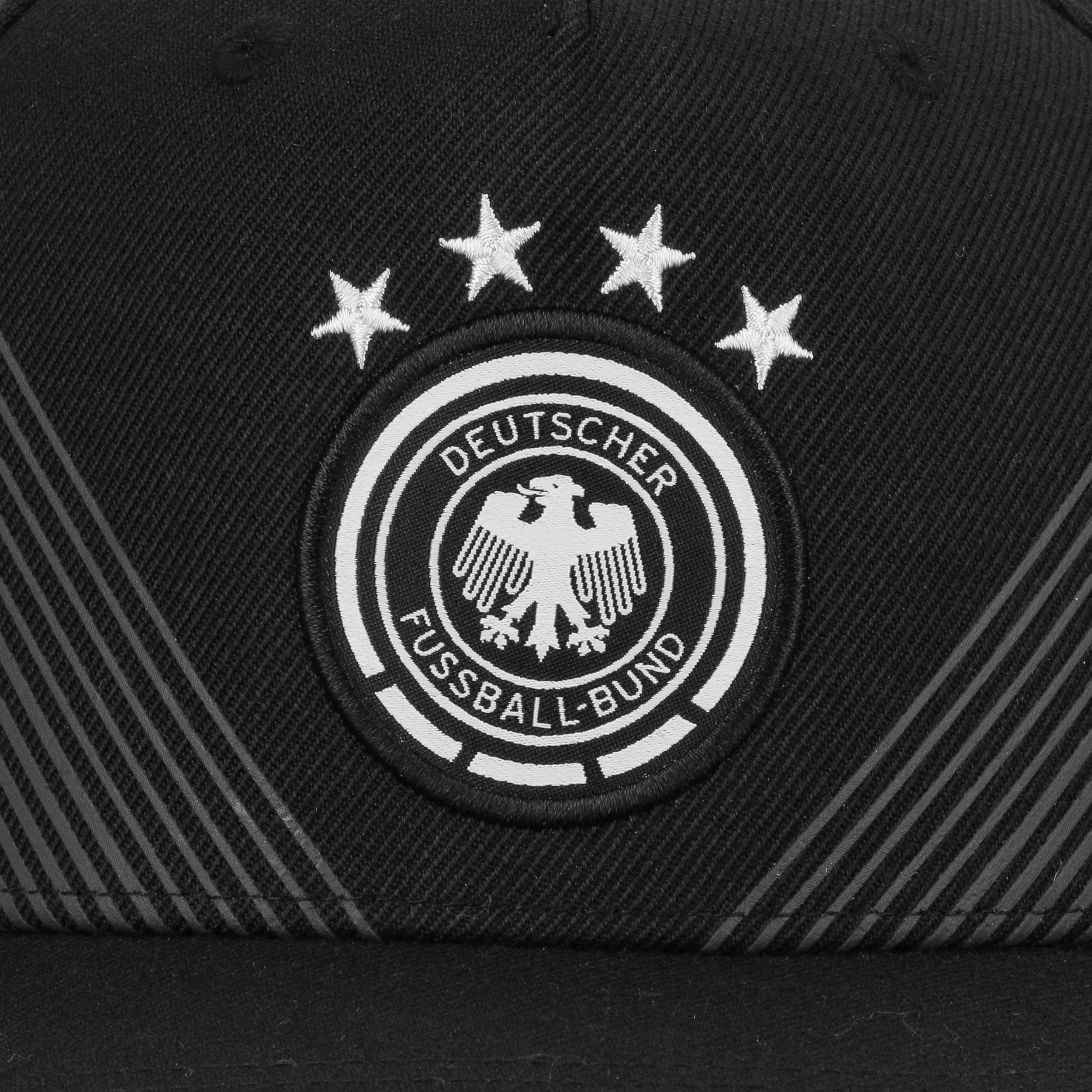0de639394e8 ... DFB Home Snapback Cap by adidas - black 4 ...