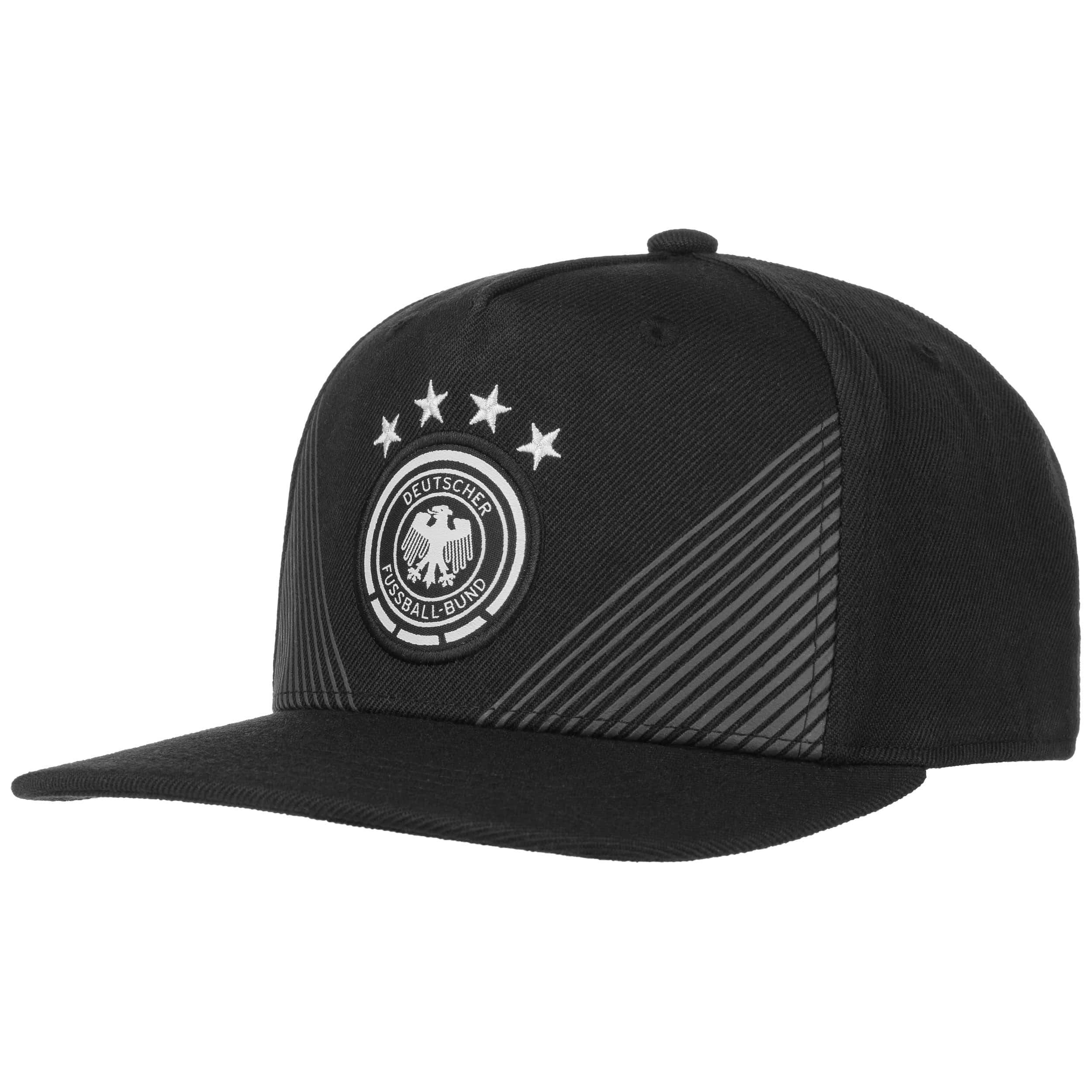 8a36d66699e ... DFB Home Snapback Cap by adidas - black 6