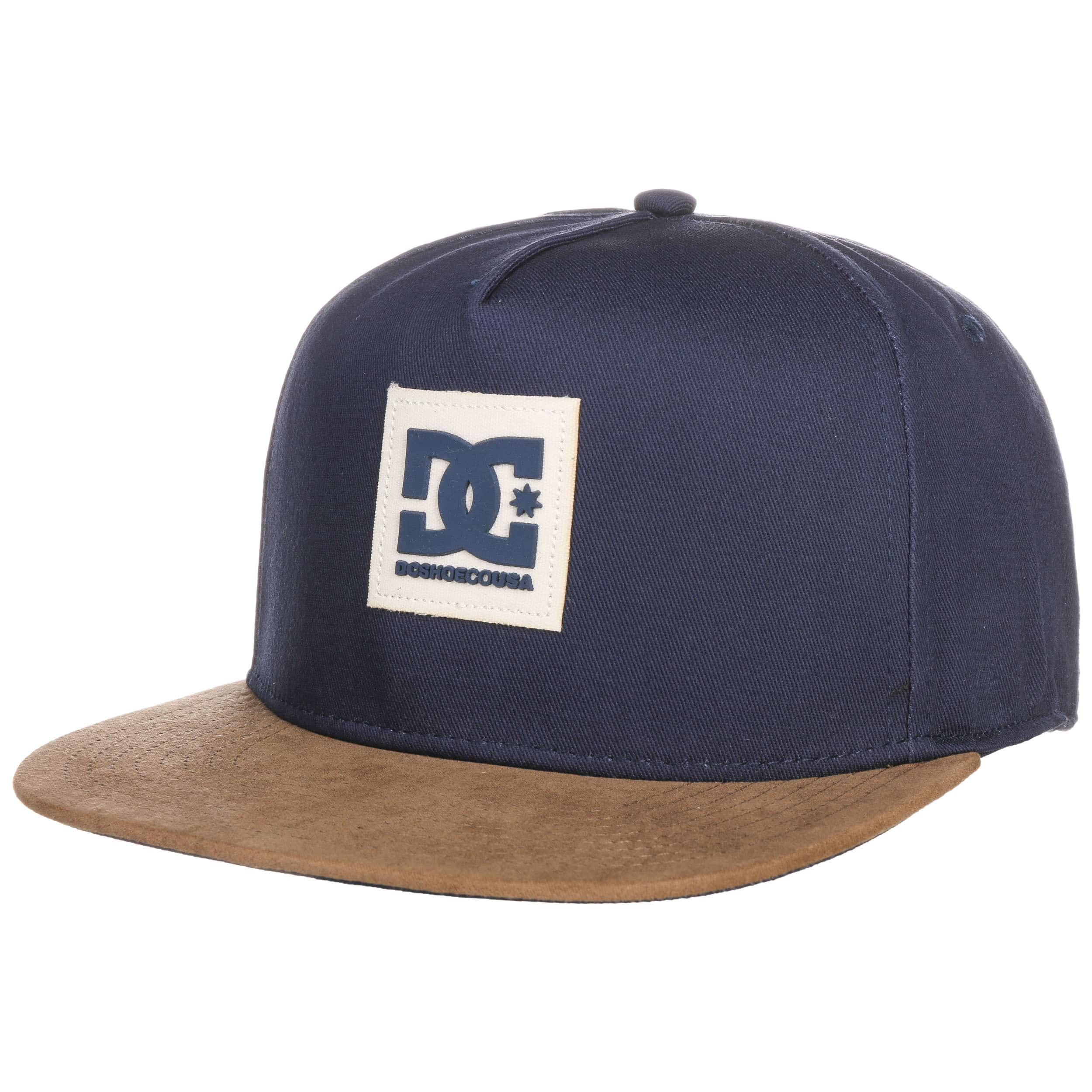 ... Dacks Snapback Cap by DC Shoes Co - navy 5 ... a1deff083dd