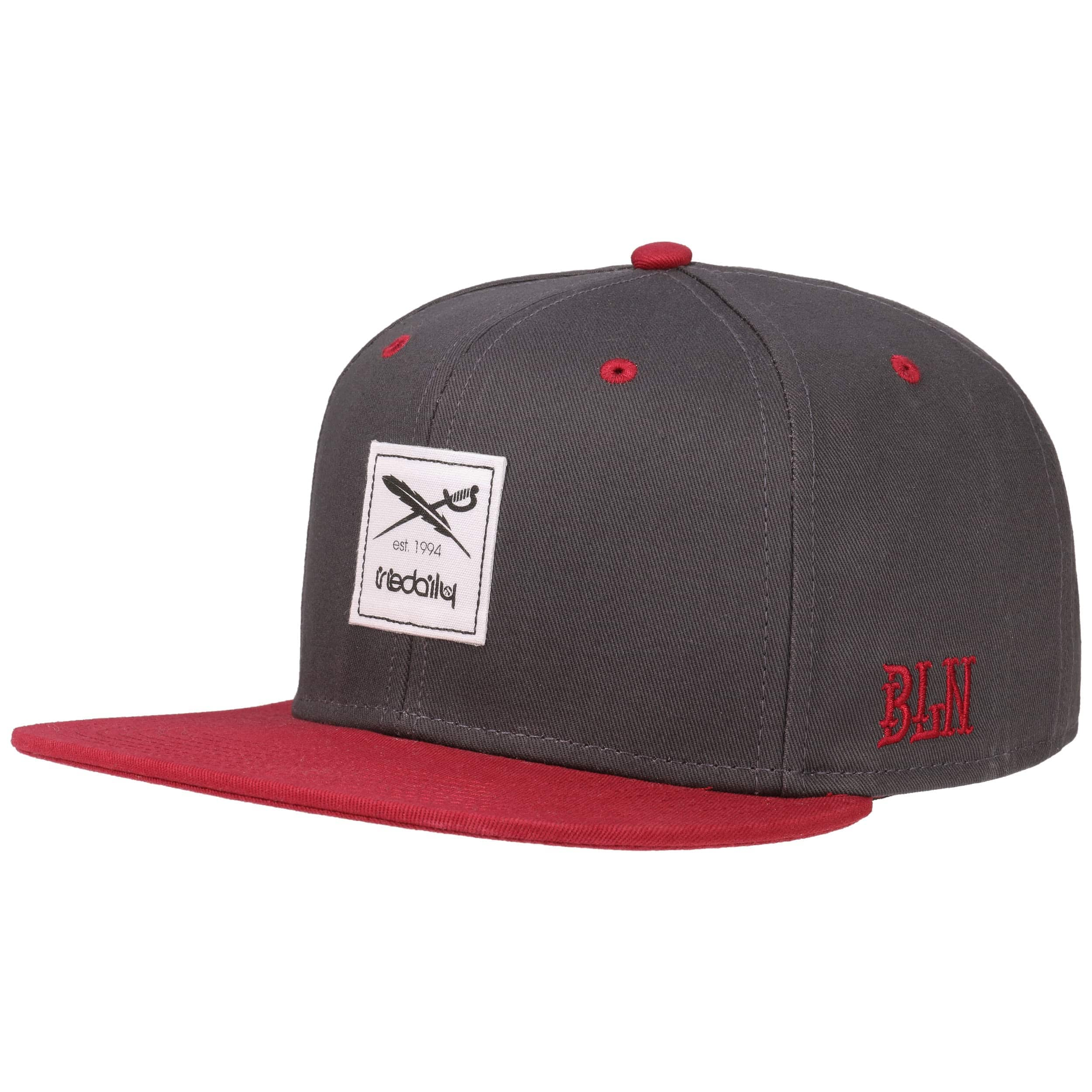 a298f686b5a ... Daily Contra Snapback Cap by iriedaily - anthracite 6 ...