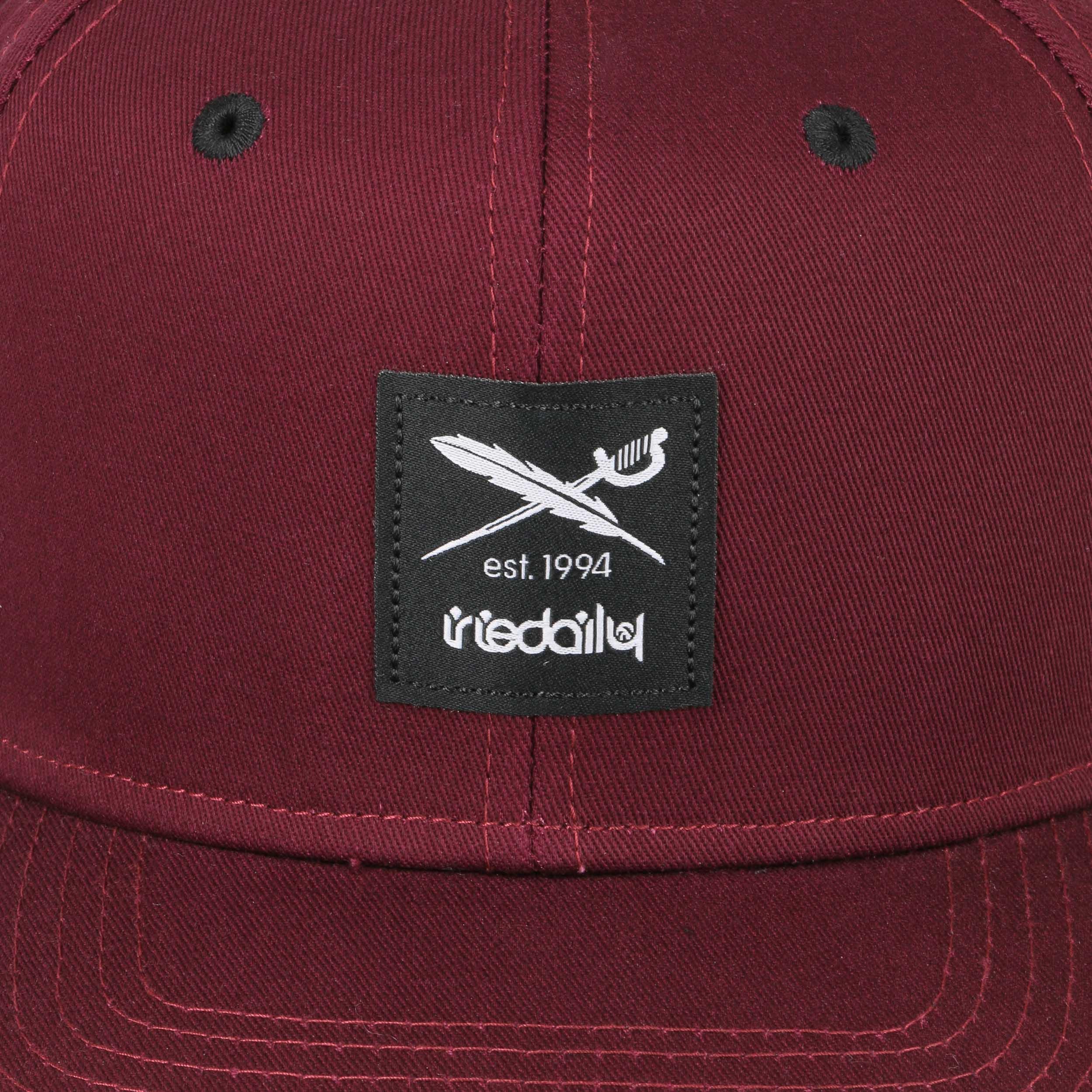 0e90b3af4fee18 ... Daily Flag 2 Snapback Cap by iriedaily - black 4 ...