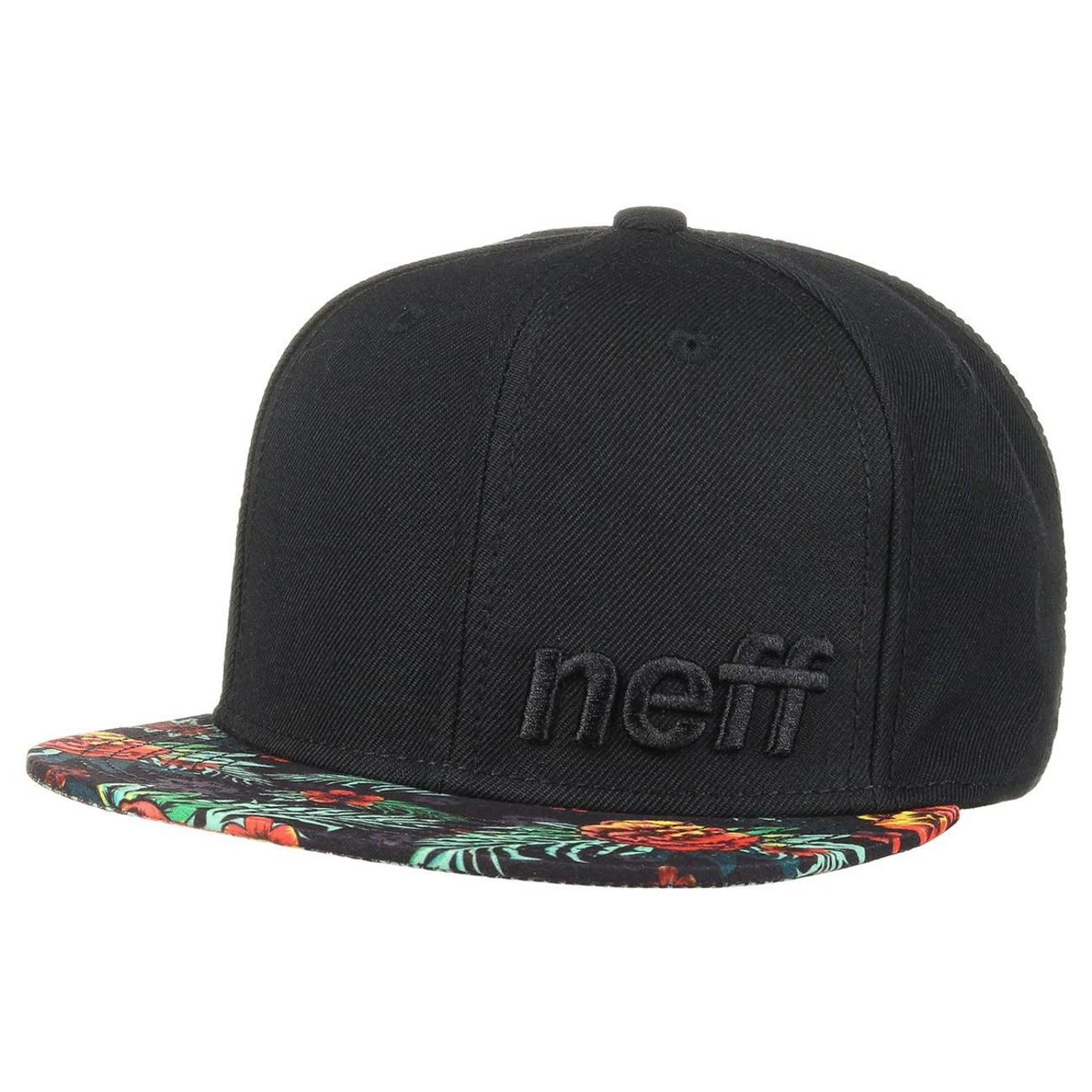 5e7cafa86c3 ... Daily Floral Snapback Cap by neff - black 3