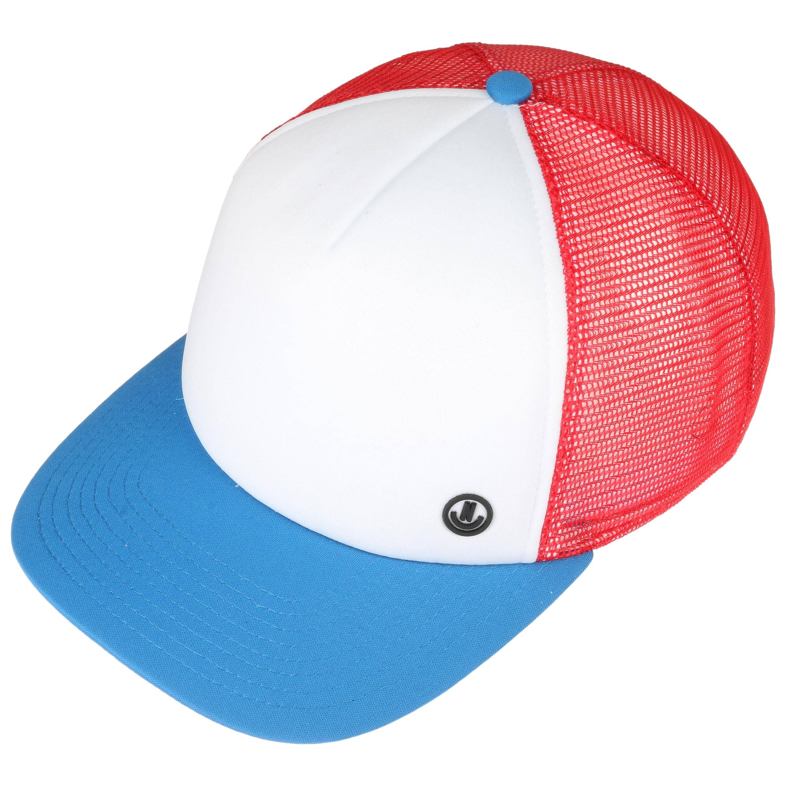 5aa6dd9d5f4 Daily Trucker Cap by Neff - white-red 1 ...