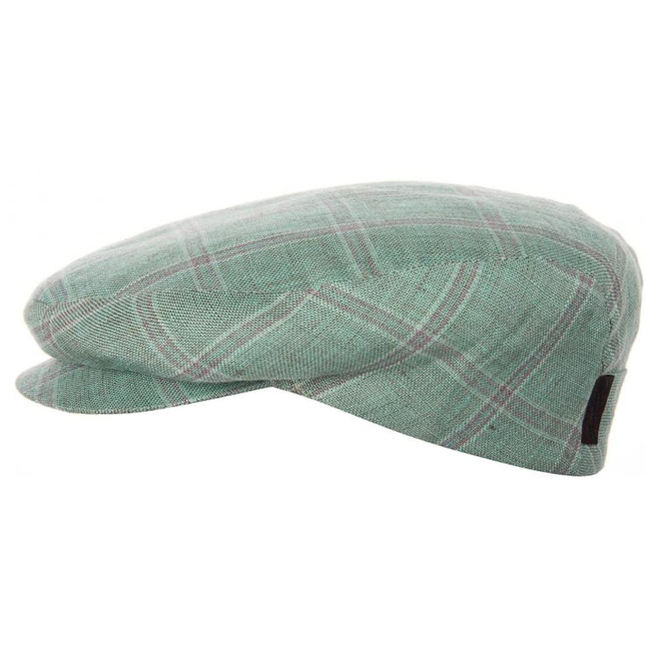 ccf496c68b7 ... Dante Linen Cap by Borsalino - green 1
